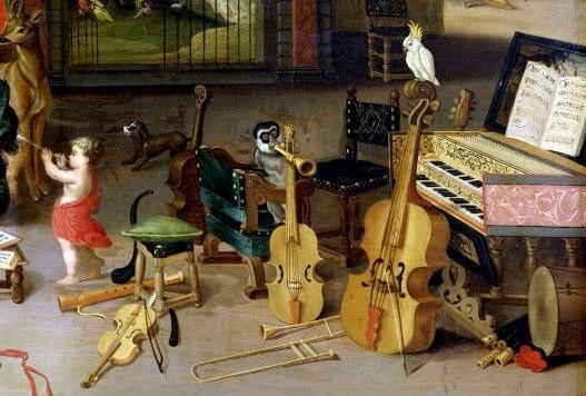 Allegory of Music, Van Kessel, Van Balen and Breughel, Antwerp, c.1625