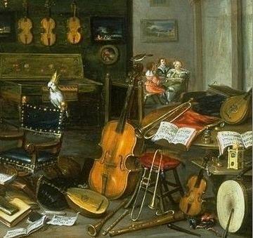lAllegory of Hearing, Jan van Kesssel, Antwerp, c. 1640