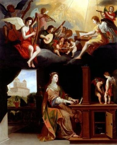 Jacques Stella, St. Cecilia, 1626