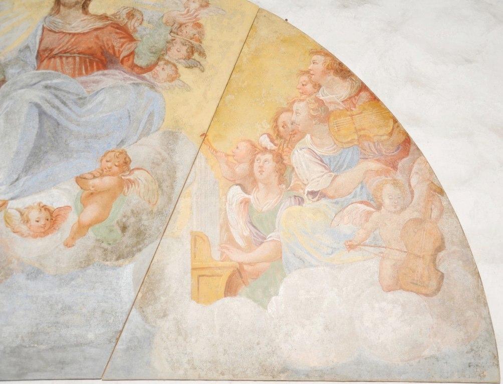 Chiesa di S. Maria del Castello, Osogna, Ticino.
