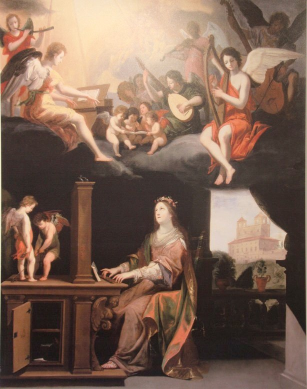 Painting in Sainte Anne d'Auras, Brittany.