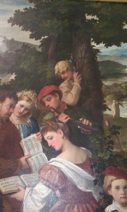 Bonifacio de' Pitati, known asBonifacio Veronese (Verona 1487 - Venice 1553). Moses saved from the waters. Pinacoteca di Brera, Milan. Contributed by Elisabeth Opsahl