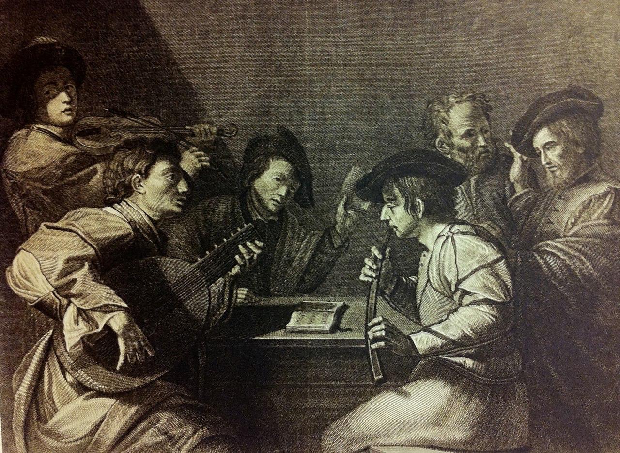 Gio. Battista Cecchi, Italian engraving 1784, copy of Manfredi (previous image)