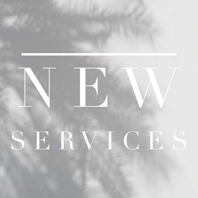 We're introducing new services this week! Any guesses on what these include? What would you like to see offered at B|L?