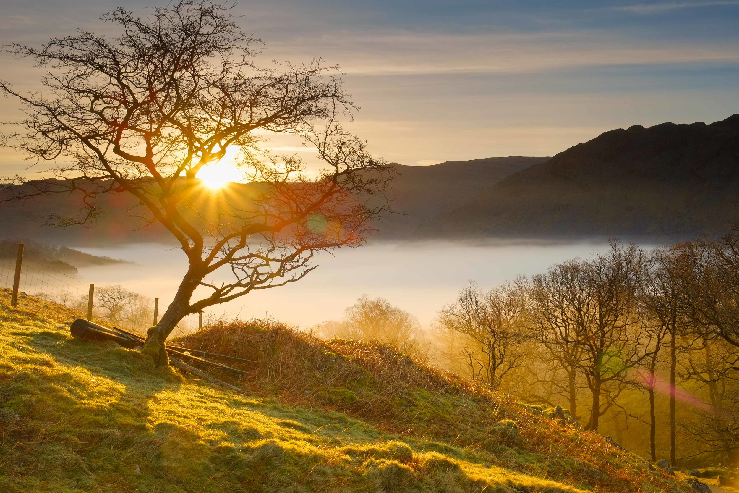 Borrowdale sunrise