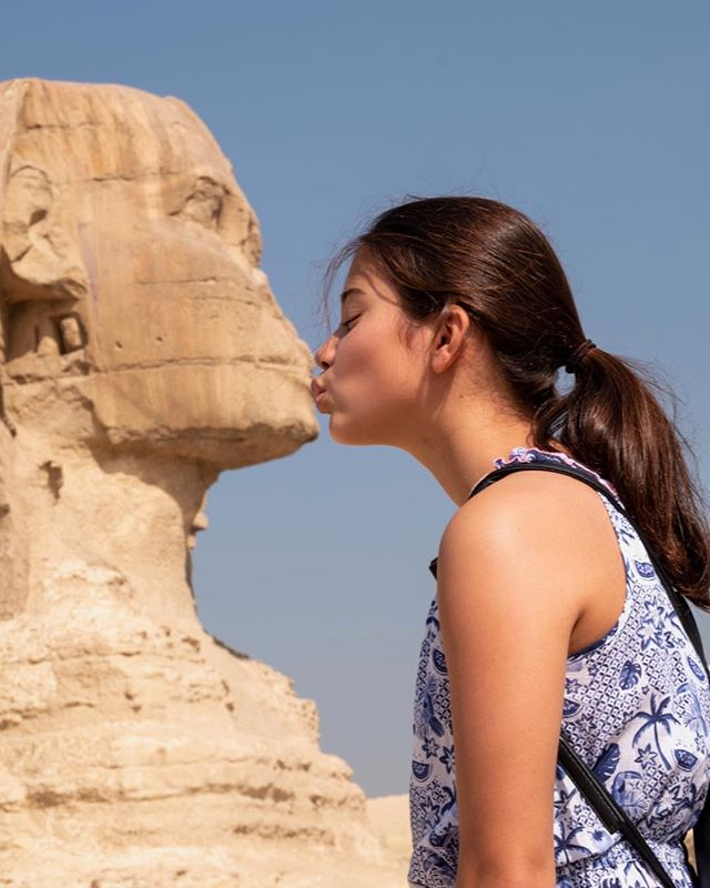 #Sphinx #Egypt #Giza #kiss
