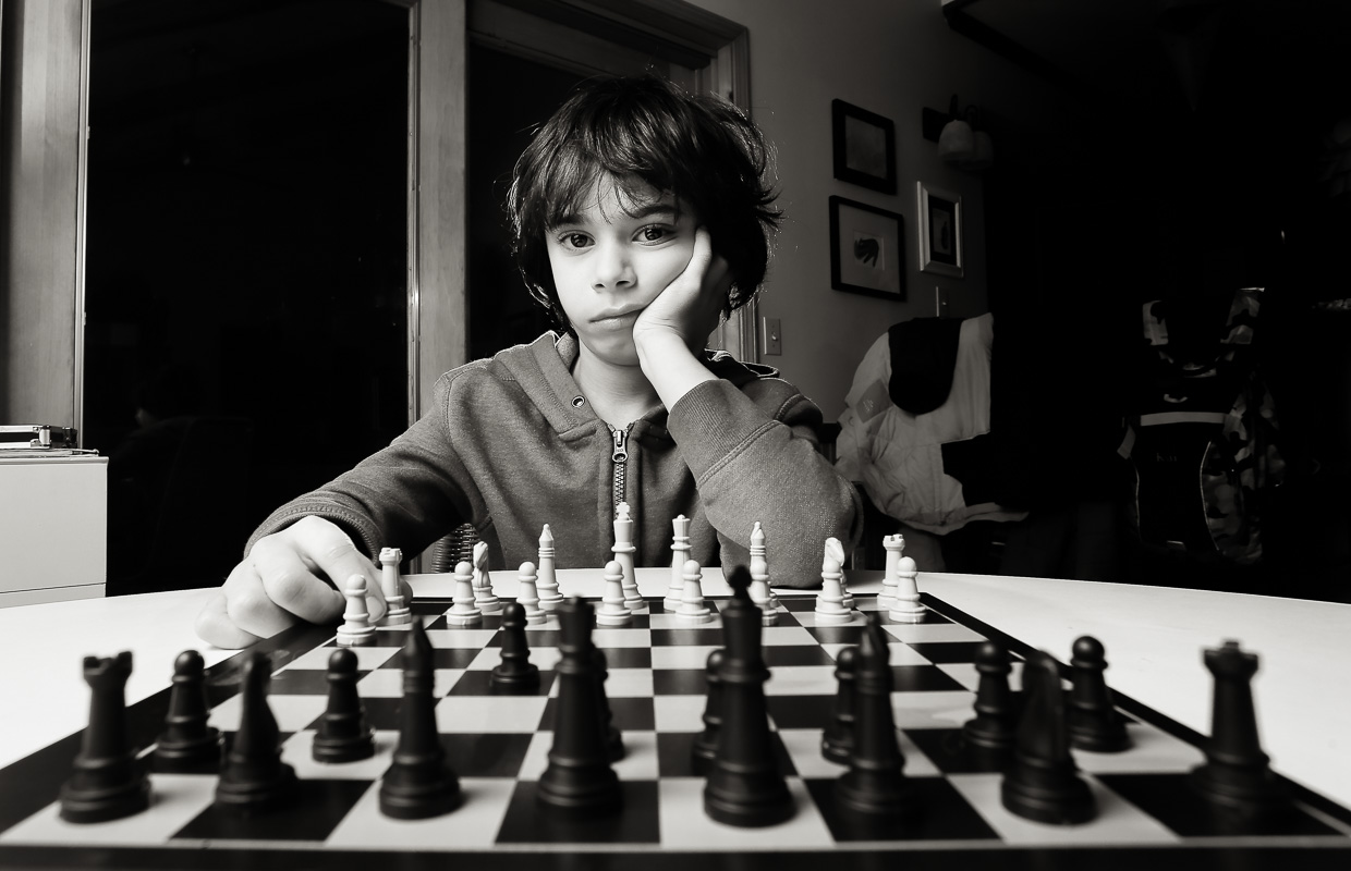 If basketball was chess the eight-year-old would be Steph Curry. Feb. 2016