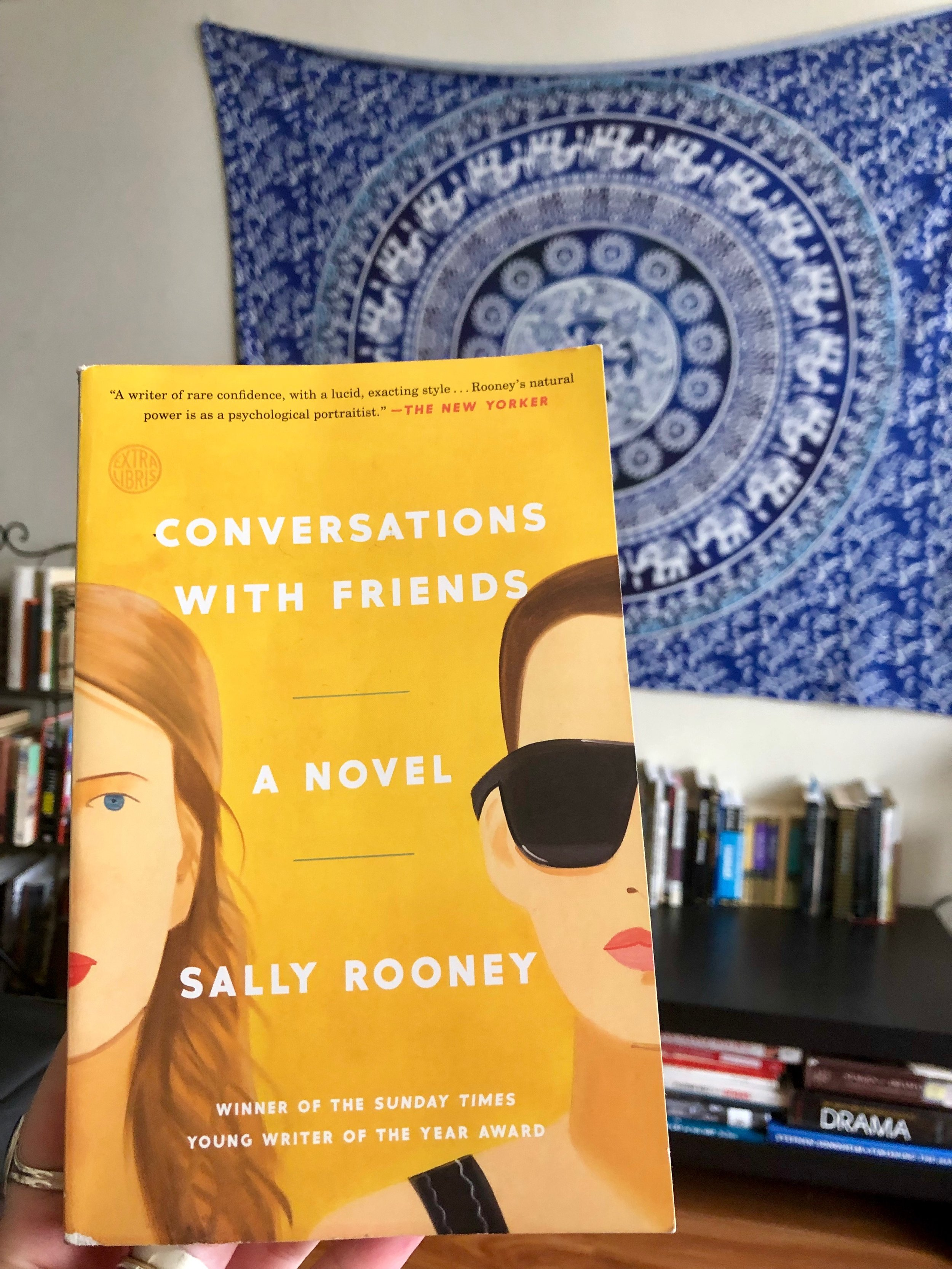 Sally Rooney's second novel,  Conversations With Friends .