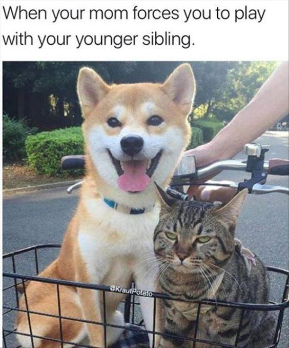 me and my older brother, David - hahahaha