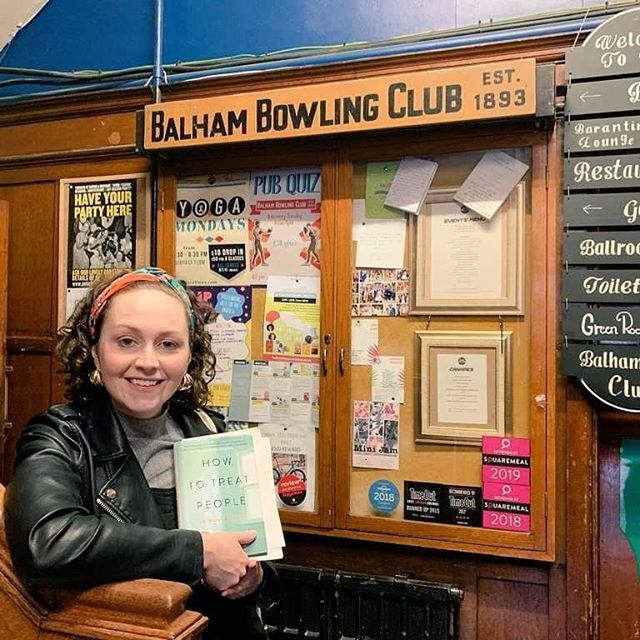 🤗 A great evening at the @balhambowls for The Balham literary festival with @dulwichbooksofficial - great discussions & Q&A with the audience. Thanks for having me and HOW TO TREAT PEOPLE! 🎤 • • • • • • • #balham #balhamliteraryfestival #bookstagram #howtotreatpeople #q&a #liveperformance #poet #spokenword #nhs #nurse #author #booklaunch #authorsofig #writer #writing #books