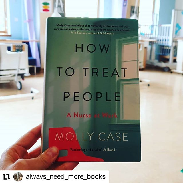 #Repost @always_need_more_books • • • • • • My book review of How to Treat People by Molly Case is up on the blog (link in bio). Molly is a nurse who studied English Literature and Creative Writing at University so this medical memoir is not only full of stories of patients she has treated as well as her personal experiences, but also is written beautifully! Today is the NHS's 71st birthday. We as a family have used them a fair bit over the last few years so truly appreciate everything they and the medical profession do every day! Thank you to @vikingbooksuk for my #gifted copy! #howtotreatpeople #mollycase #medicalmemoir #nonfiction #hardbackbooks #bookblogger #blogpost #nurses #nhs71