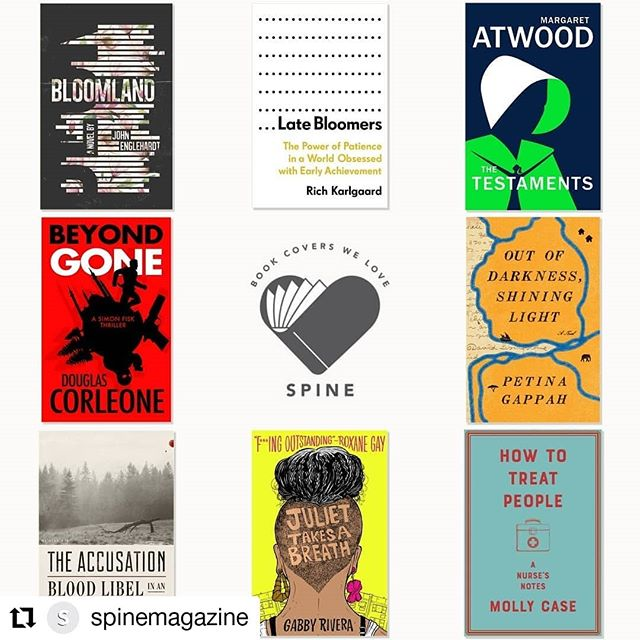 Oh, ya know. There we are just hanging out below @therealmargaretatwood 😳  HOW TO TREAT PEOPLE 💙 Out in the US now! 🇺🇸 #Repost @spinemagazine • • • • • • It's Book Covers We Love! See which brand new covers caught the eyes of our panel this week.  Link in the bio. . #booksofinstagram #bookaddict #bookaholic #bookstagram #books #book #coverdesign #design #designer #graphicdesigner #graphicdesign #illustrator #illustration #photography