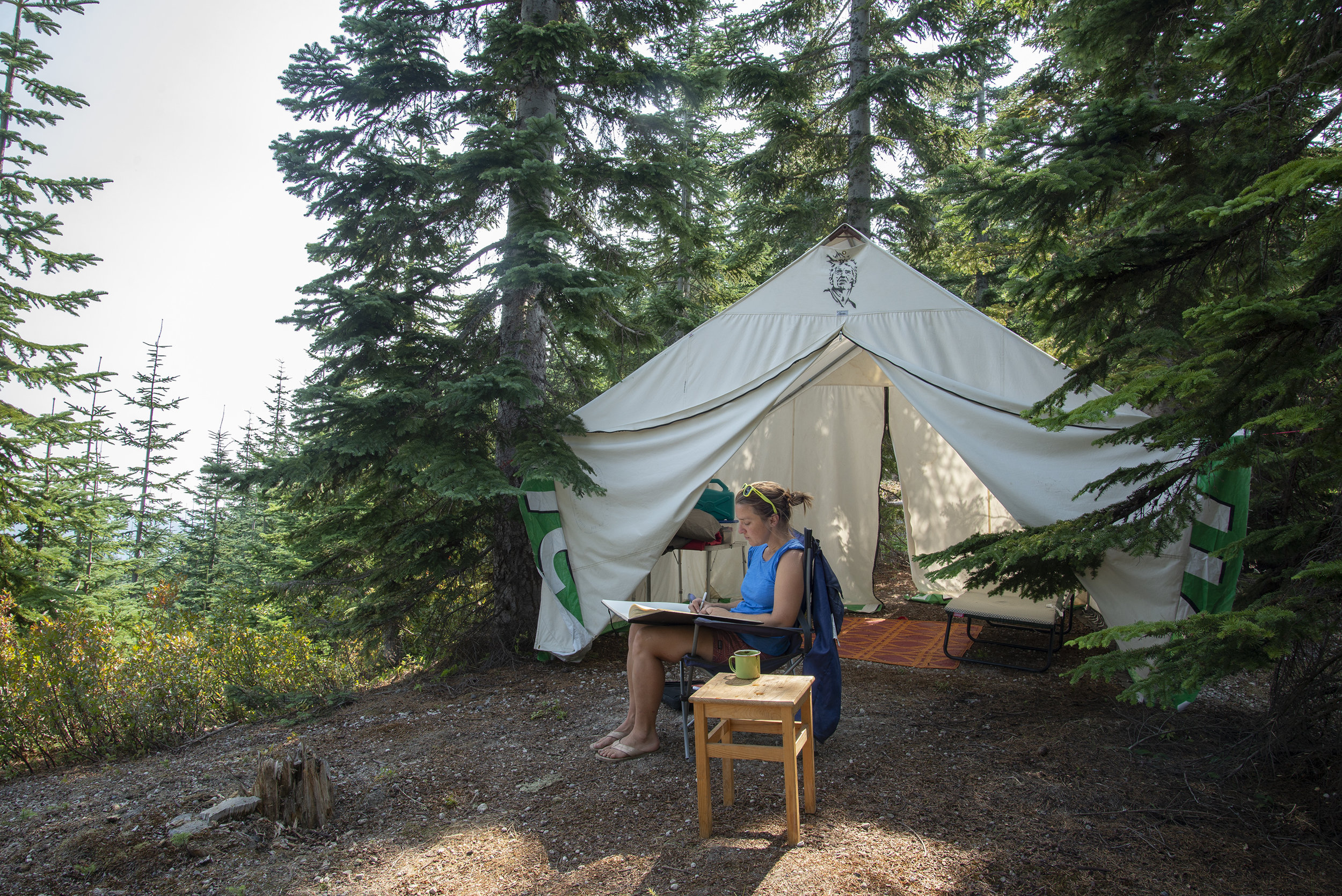 Signal Fire's Outpost Residency on Loowit - Mount Saint Helen's National Monument, WA