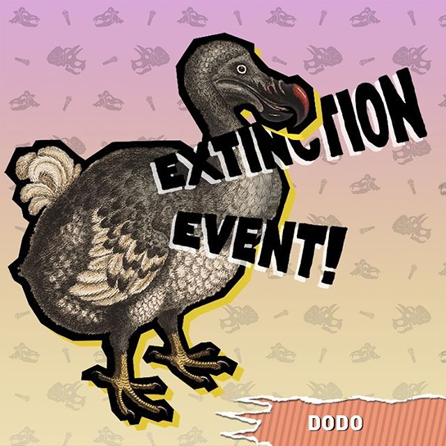 We're finally doing the Dodo on #extinctionevent ! This big-beaked extinction celebrity endured tasteless jokes from sailors until the bitter end. Listen now on whatever one of the million podcast platforms you're currently listening to it on . . . . . . . . . . . . . . . . . . . . . . . . . . . . . . . . . . . . . . . . . . . . . . . . . . . . . . . . . . . . . . . . . . . . . . . . . . . . . . . . . . . . . . . . . . . . . . . . . . . . . . . . . . . . . .  #animals #birds #extinction #nature #history #dodo #mauritius #podcast #comedy