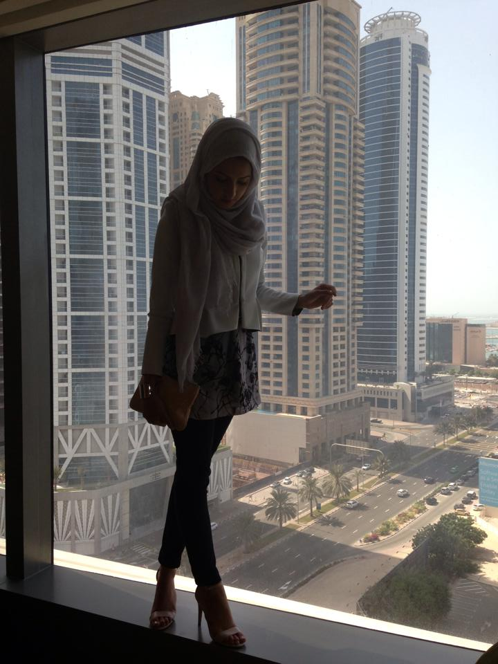 Hotel views in Media City, Dubai
