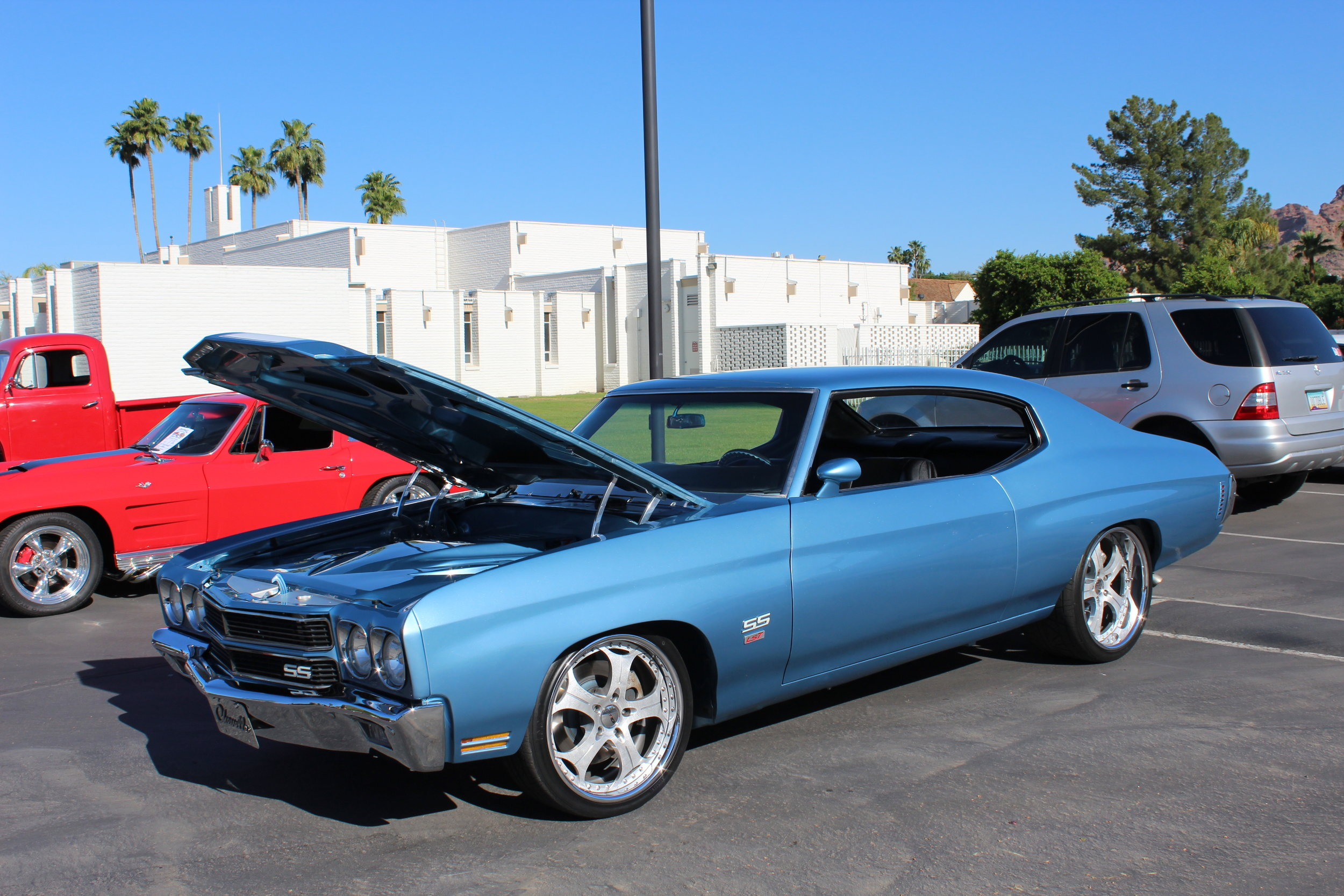 Colton Vercelli's 1970 Chevelle (see the You-Tube video below)