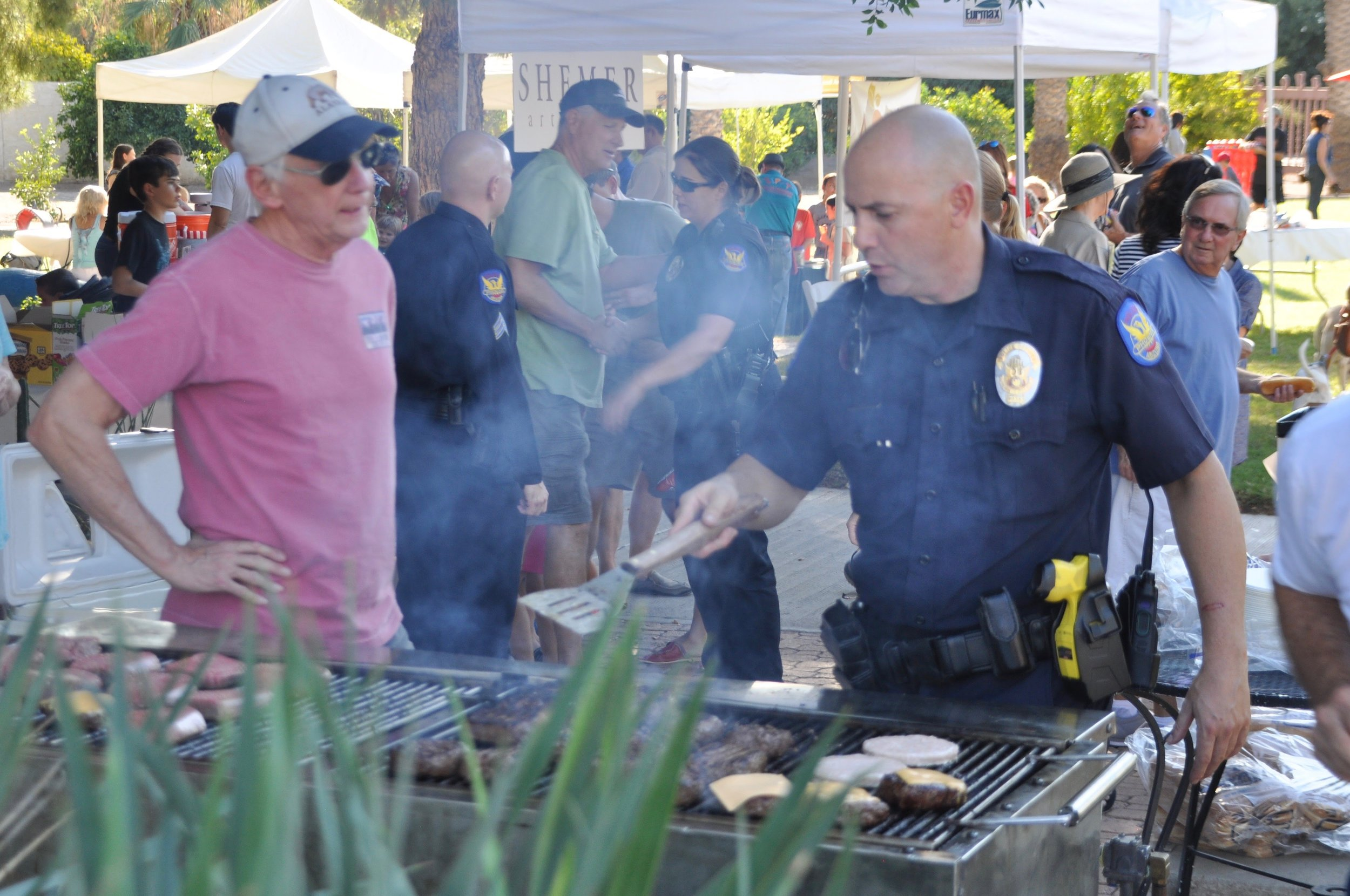 The Arcadia BBQ Picnic brings over 300 neighbors together every October.