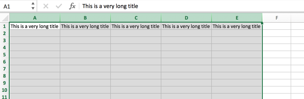Double-click on the line between columns to have them fit to the width of the text.