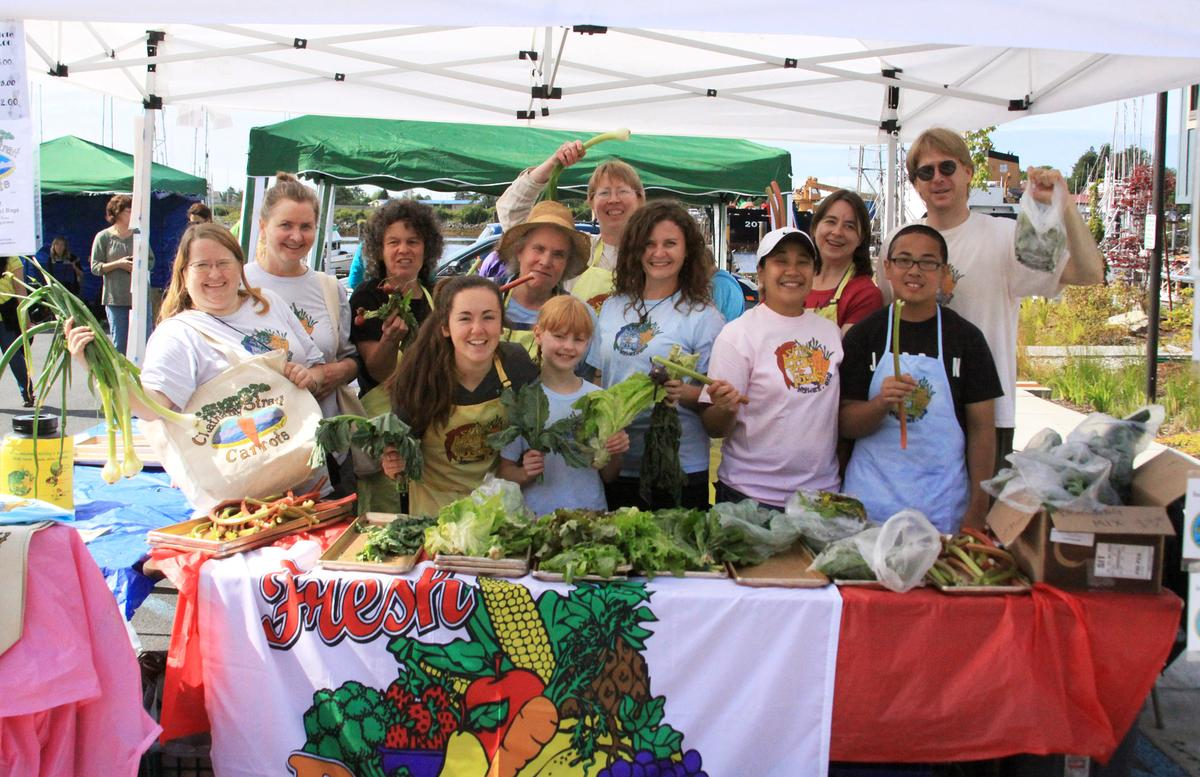 The Sitka Local Foods Network at the community's farmers market.