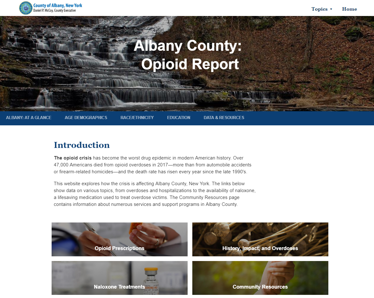 Albany County Opioid Report