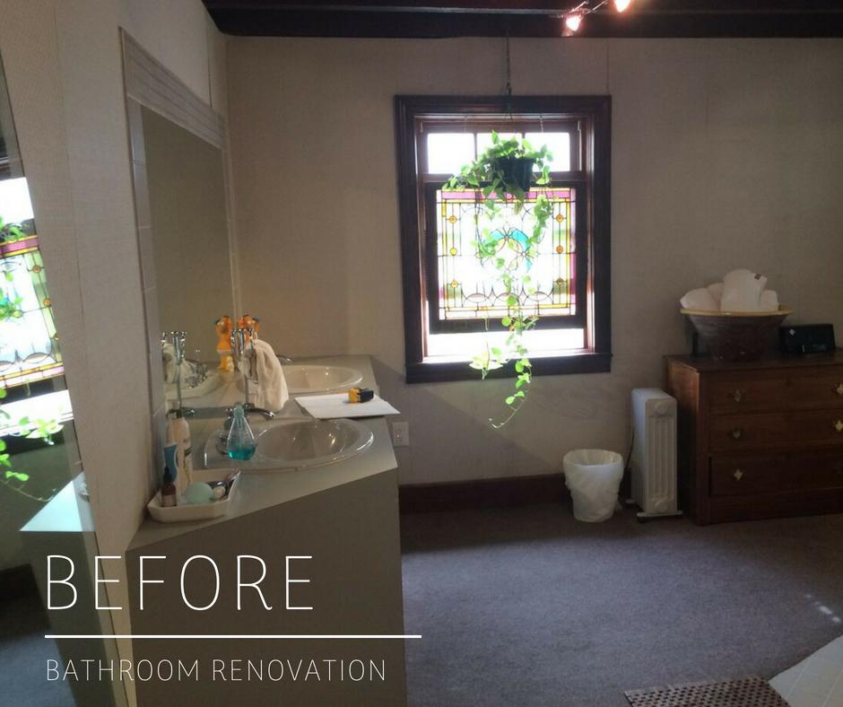 BEFORE Bathroom remodel