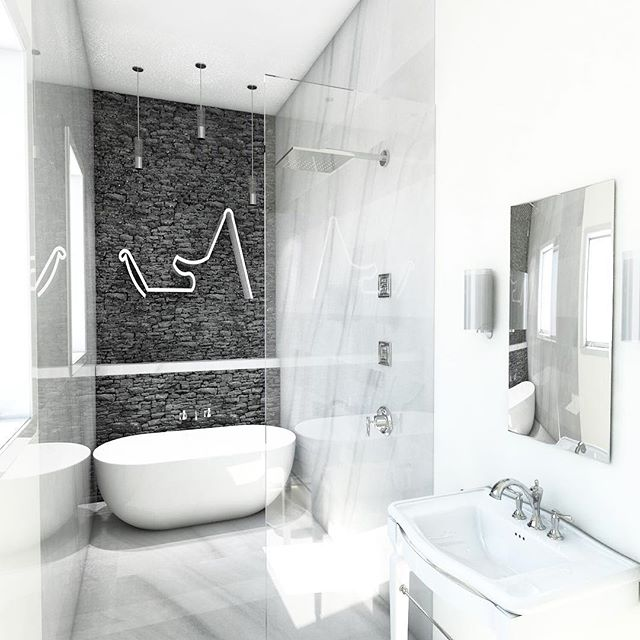 Our teams master bathroom creation 🛁 What's your dream bathroom?  #ferrarini #interiordesign #bathroomremodel