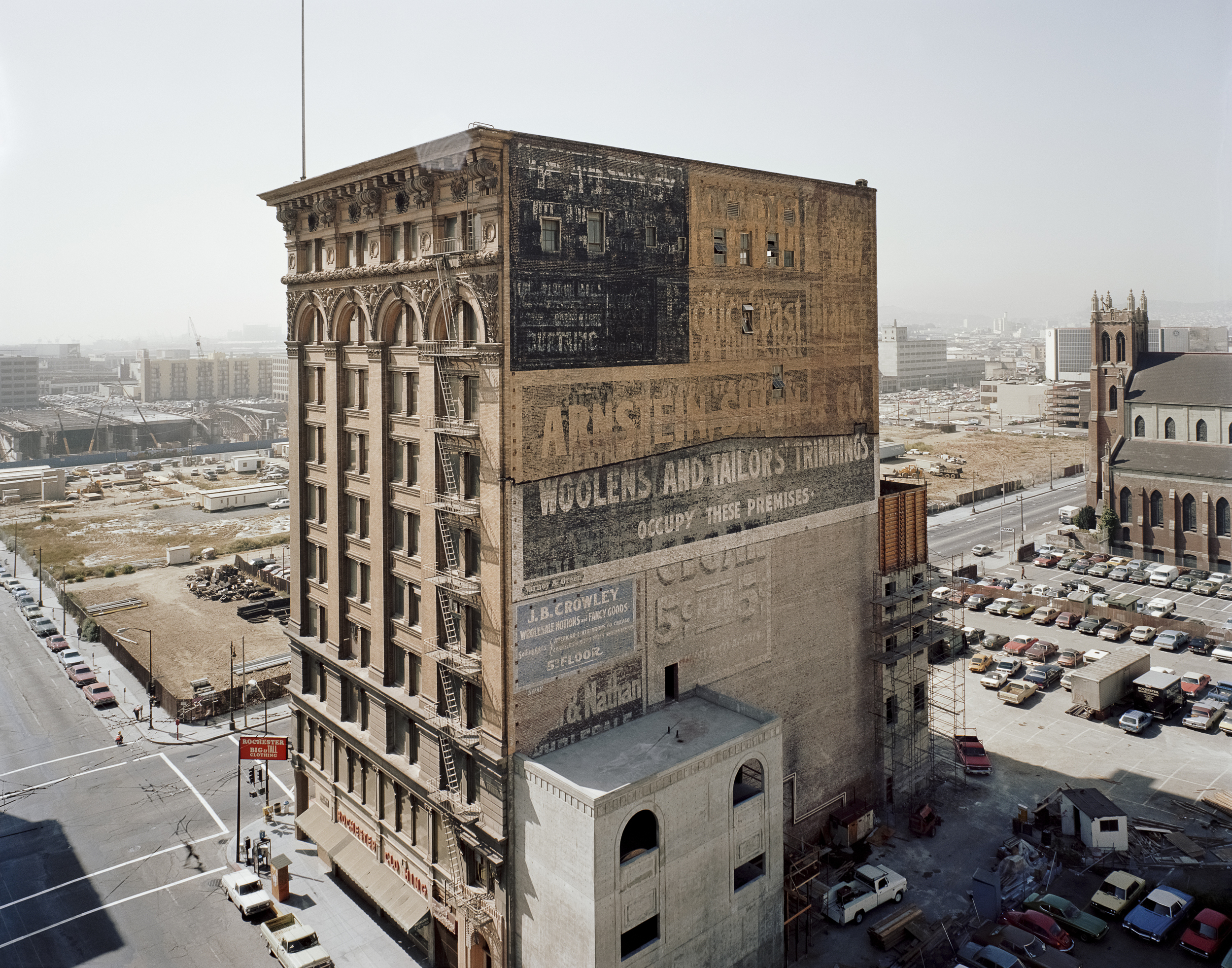 JANET DELANEY Mercantile Building, Mission and 3rd Streets, 1980 Archival Pigment Print, 2016 16 x 20 inches, edition of 5 20 x 24 inches, edition of 2 30 x 40 inches, edition of 2