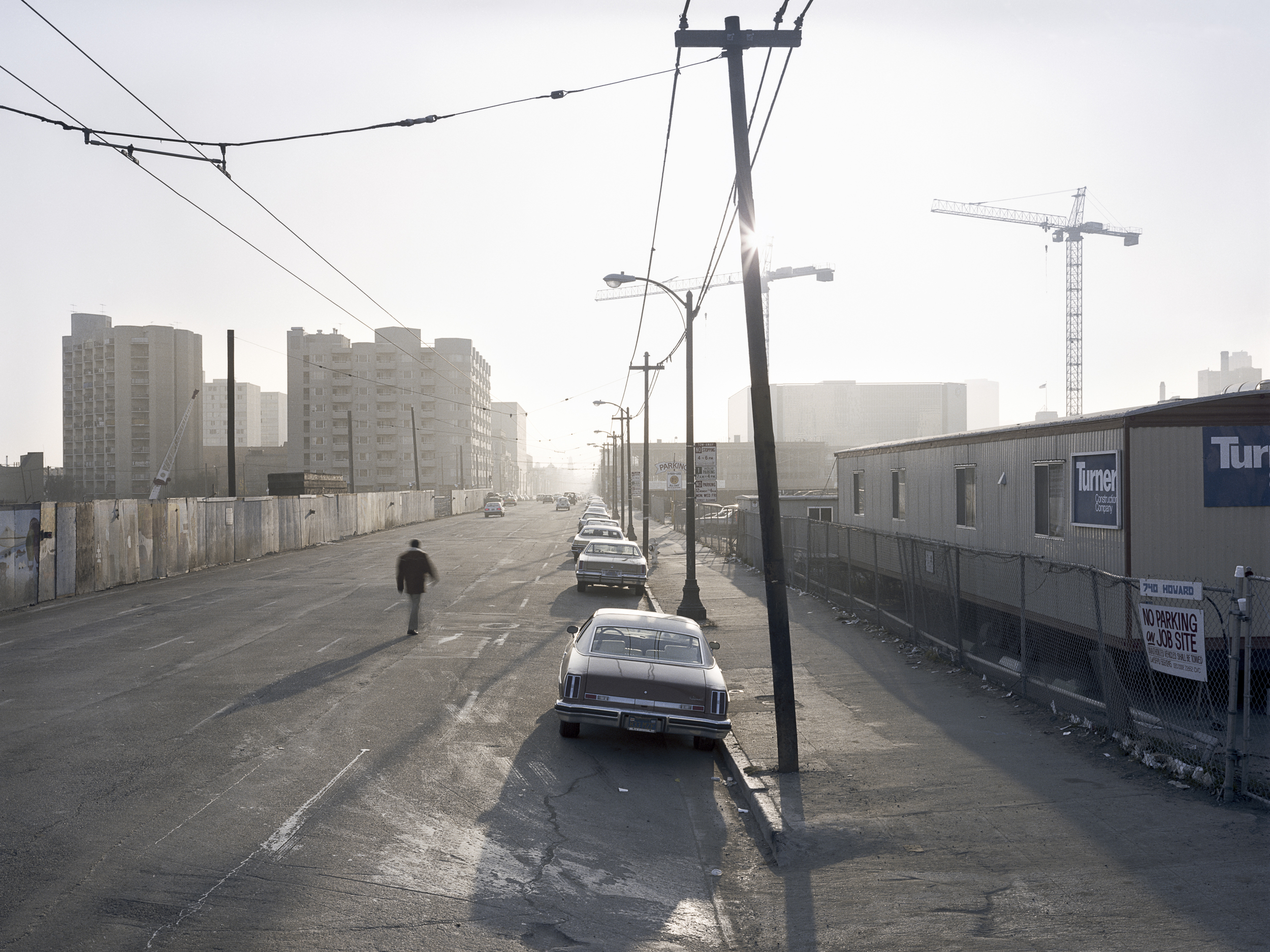 JANET DELANEY Saturday afternoon, Howard between 3rd and 4th Streets, 1981 Archival Pigment Print, 2016 16 x 20 inches, edition of 5 20 x 24 inches, edition of 2 30 x 40 inches, edition of 2