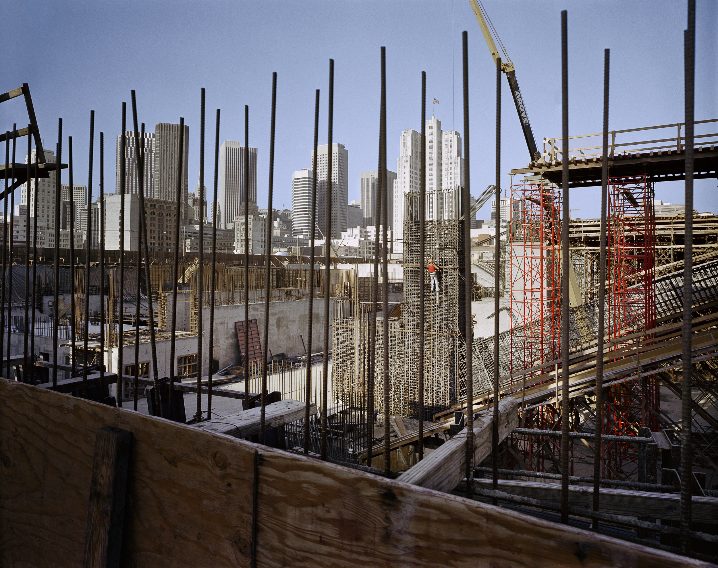 Moscone Center under construction, 1980 Archival Pigment Print, 2016 16 x 20 inches, edition of 5 20 x 24 inches, edition of 2 30 x 40 inches, edition of 2