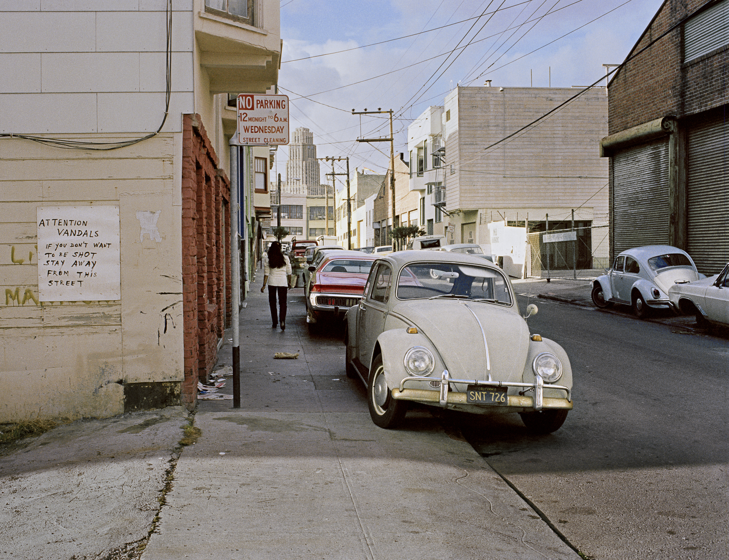 Langton between Folsom and Howard Street, 1979 Archival Pigment Print, 2016 16 x 20 inches, edition of 5 20 x 24 inches, edition of 2 30 x 40 inches, edition of 2