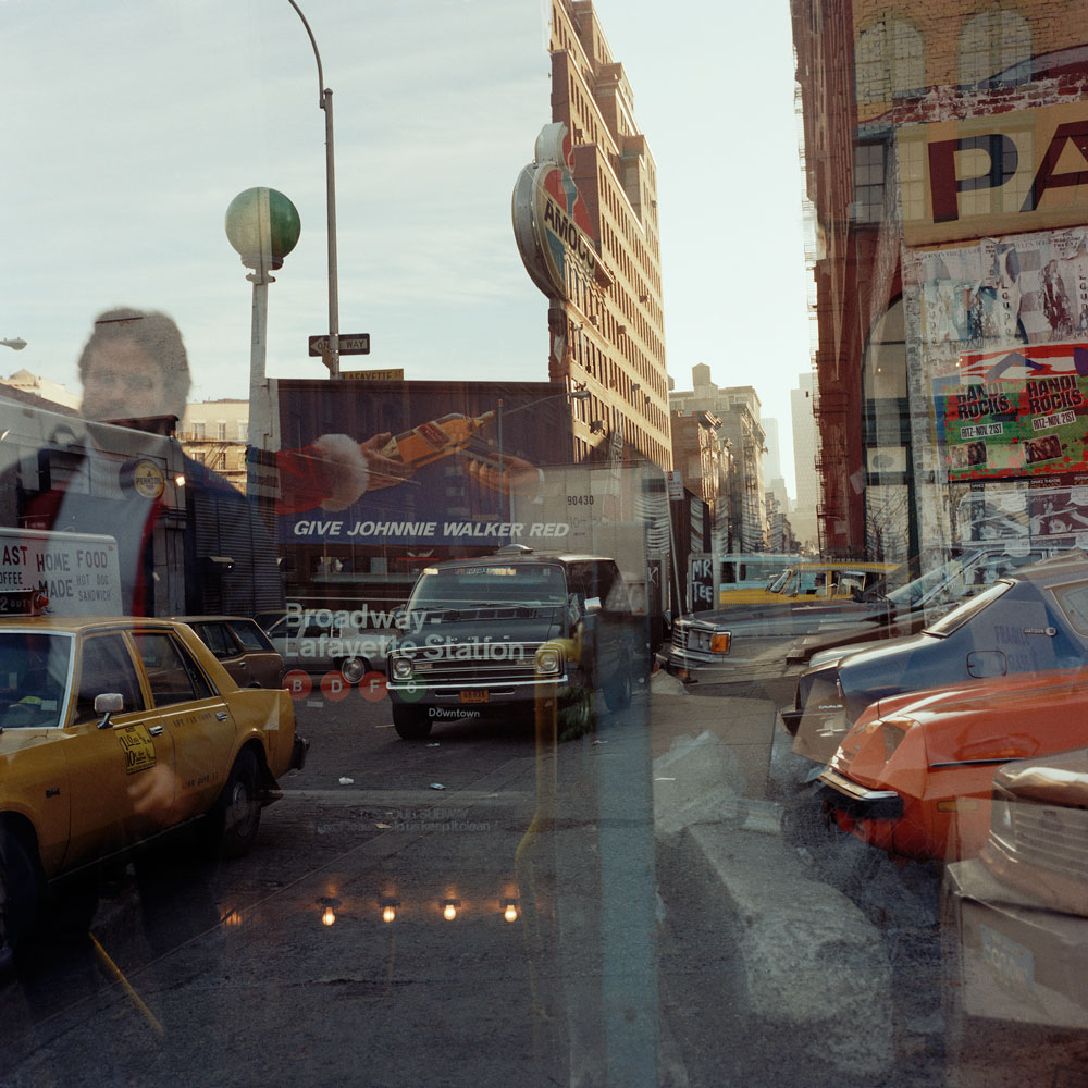 JANET DELANEY Broadway Lafayette Station, 1984 from New York City 1984-1987 Archival Pigment Print 15 x 15 inches, edition of 5 24 x 24 inches, edition of 2