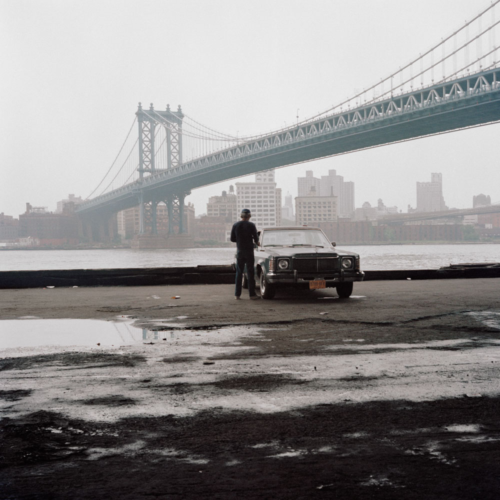 JANET DELANEY Manhattan Bridge, 1987 from New York City 1984-1987 Archival Pigment Print 15 x 15 inches, edition of 5 24 x 24 inches, edition of 2