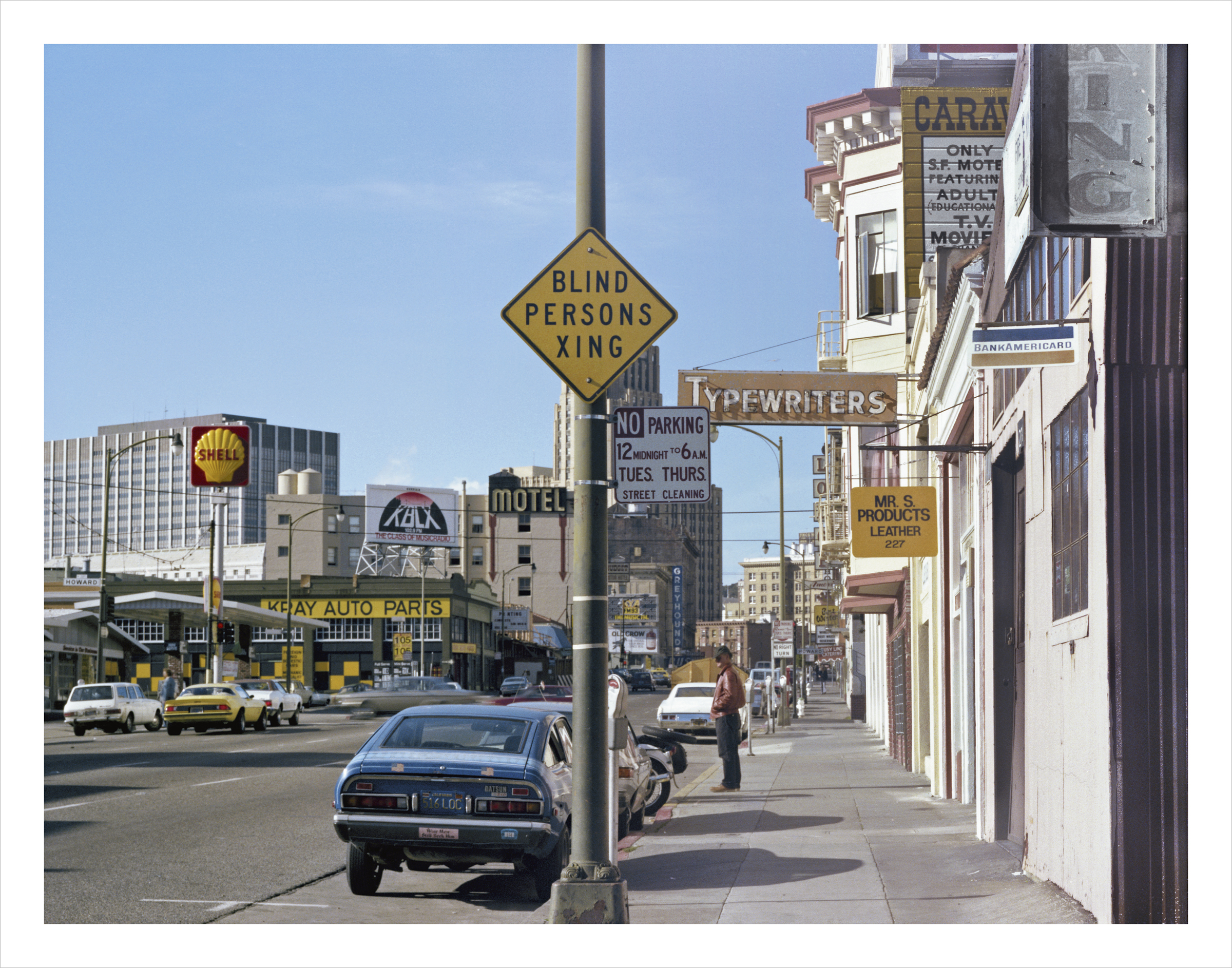 JANET DELANEY 7th at Howard Street, 1979 Archival Pigment Print, 2016 16 x 20 inches, edition of 5 20 x 24 inches, edition of 2 30 x 40 inches, edition of 2