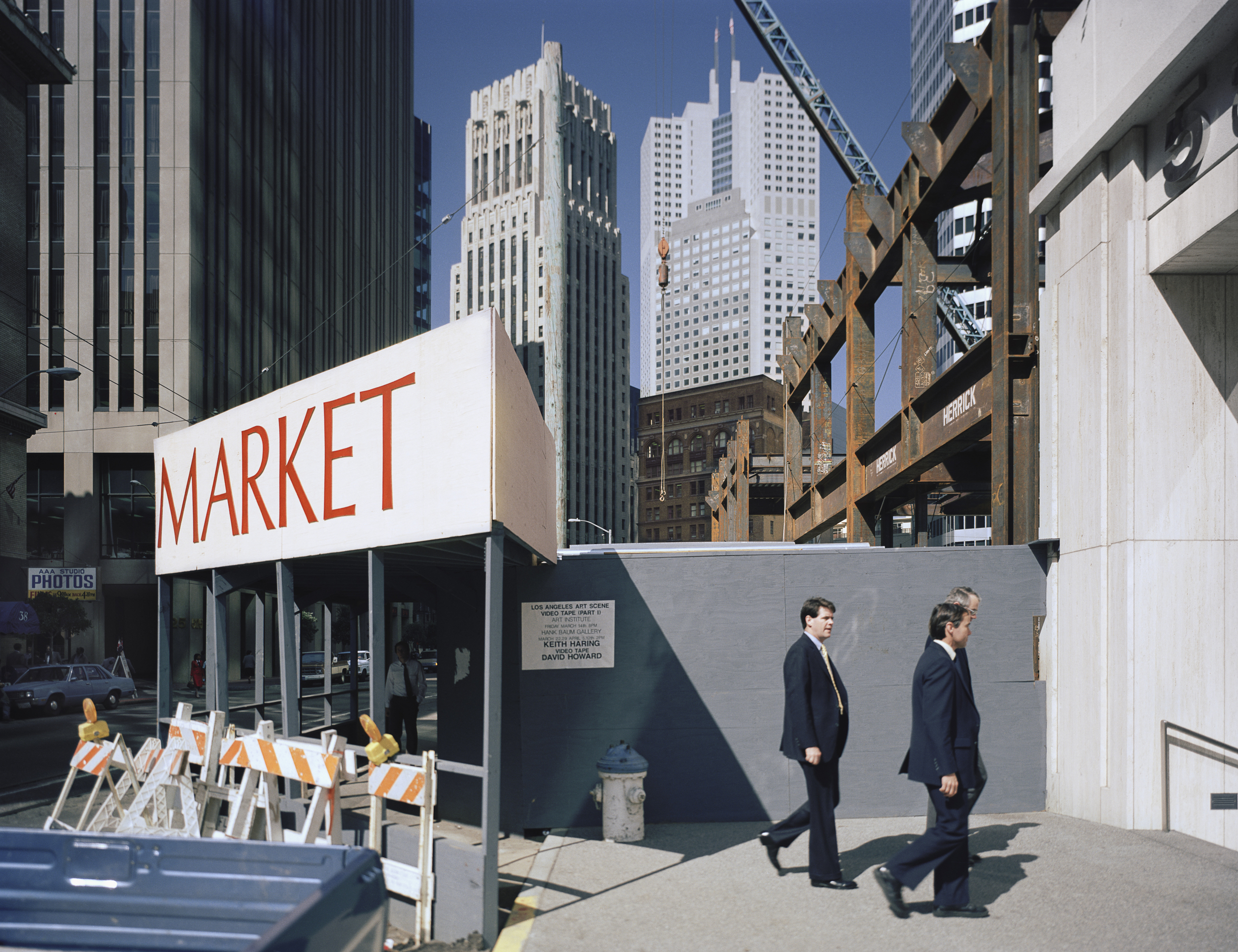 JANET DELANEY 2nd at Market Street, 1986 Archival Pigment Print, 2016 16 x 20 inches, edition of 5 20 x 24 inches, edition of 2 30 x 40 inches, edition of 2