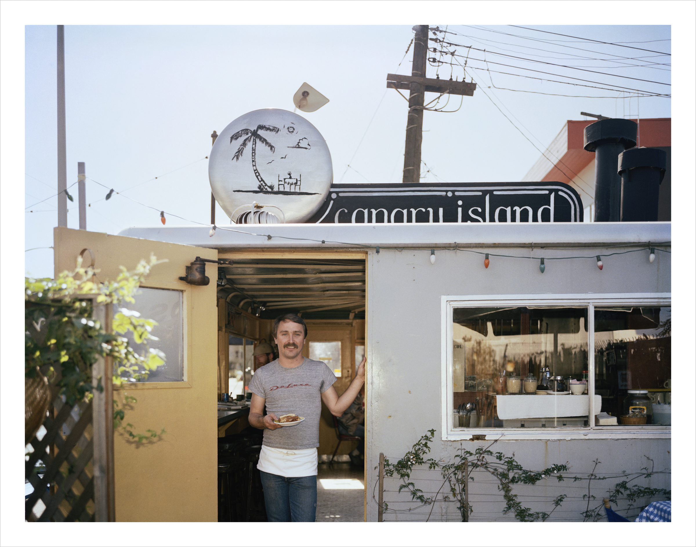 Carnary Island Diner, 1207 Harrison Street, 1982 Archival Pigment Print, 2016 16 x 20 inches, edition of 5 20 x 24 inches, edition of 2 30 x 40 inches, edition of 2