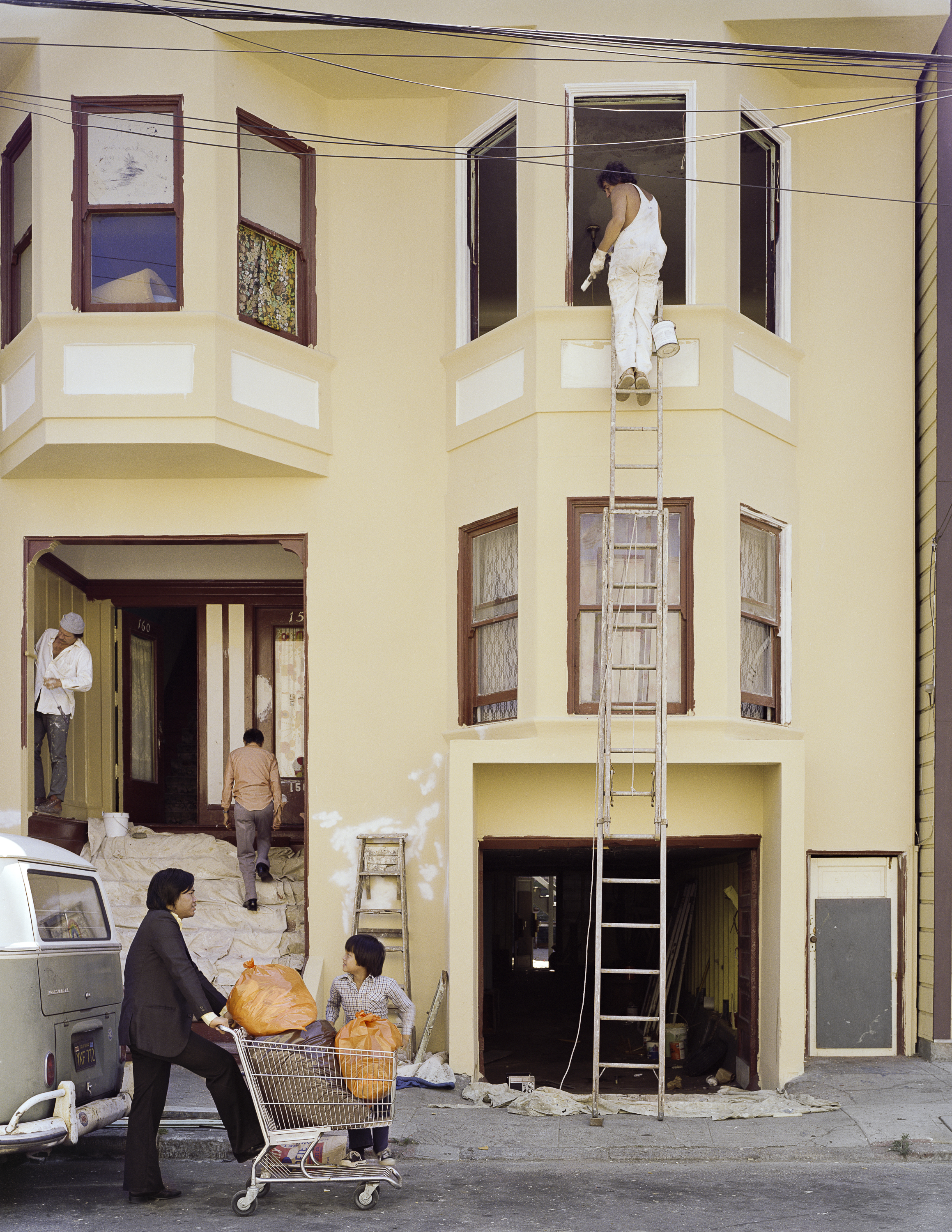 JANET DELANEY Eviction, 158-160 Langton Street, 1980 Archival Pigment Print, 2016 16 x 20 inches, edition of 5 20 x 24 inches, edition of 2 30 x 40 inches, edition of 2