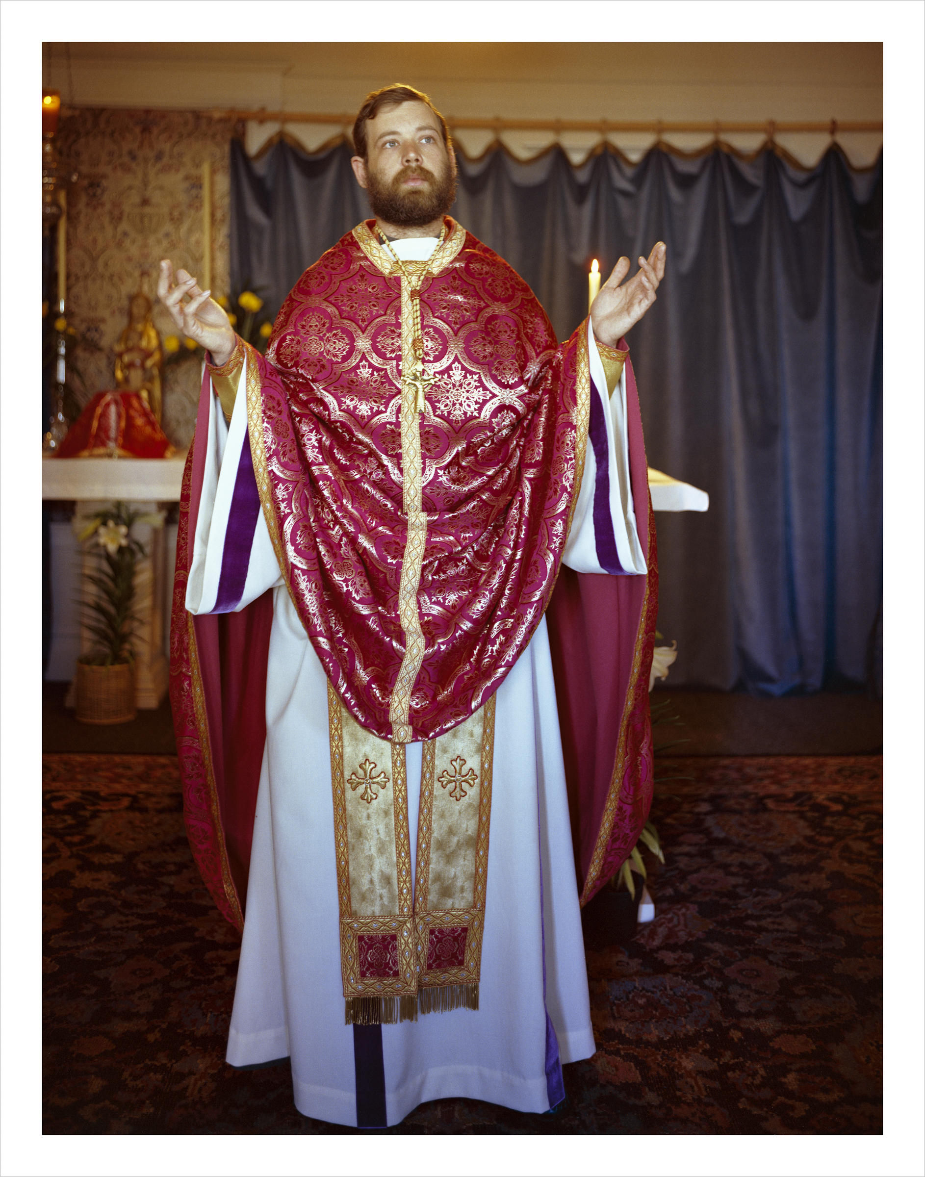 Father Leo Joseph, 60 Langton Street, 1981