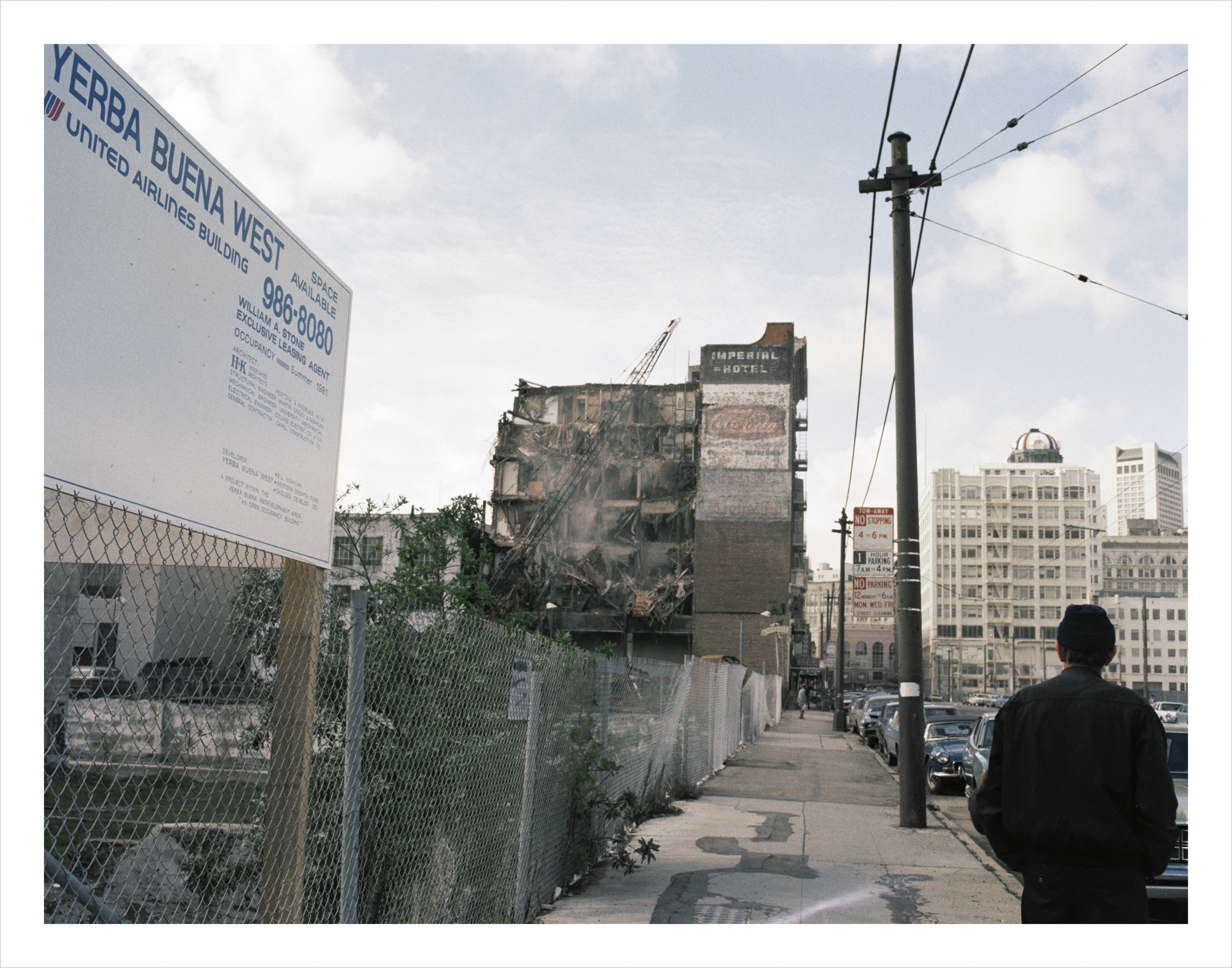 Future site of Yerba Buena West, 4th at Howard Street, 1978 Archival Pigment Print, 2016 16 x 20 inches, edition of 5 20 x 24 inches, edition of 2 30 x 40 inches, edition of 2