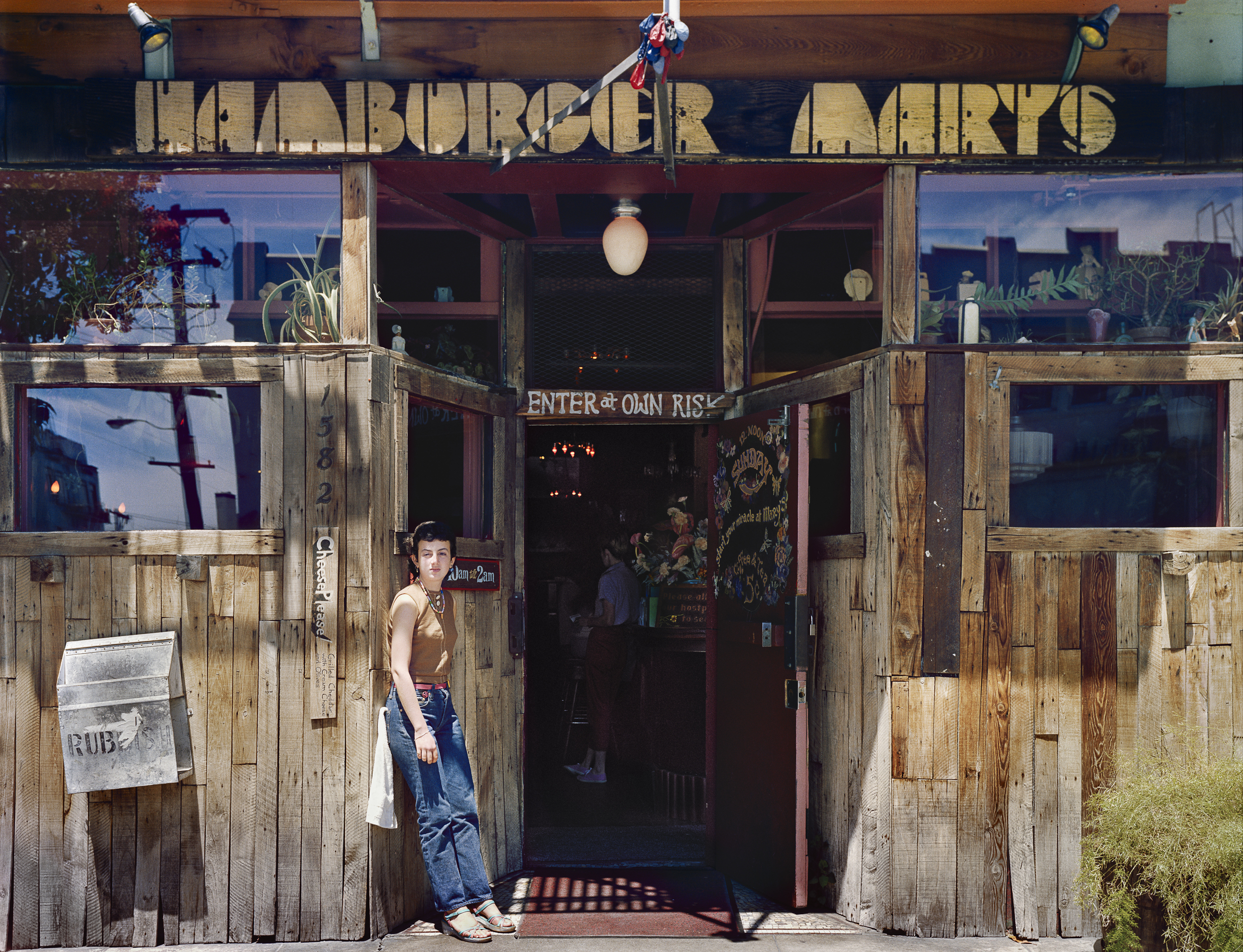 Hamburger Mary's, 1582 Folsom at 12th Street, 1980 Archival Pigment Print, 2016 16 x 20 inches, edition of 5 20 x 24 inches, edition of 2 30 x 40 inches, edition of 2