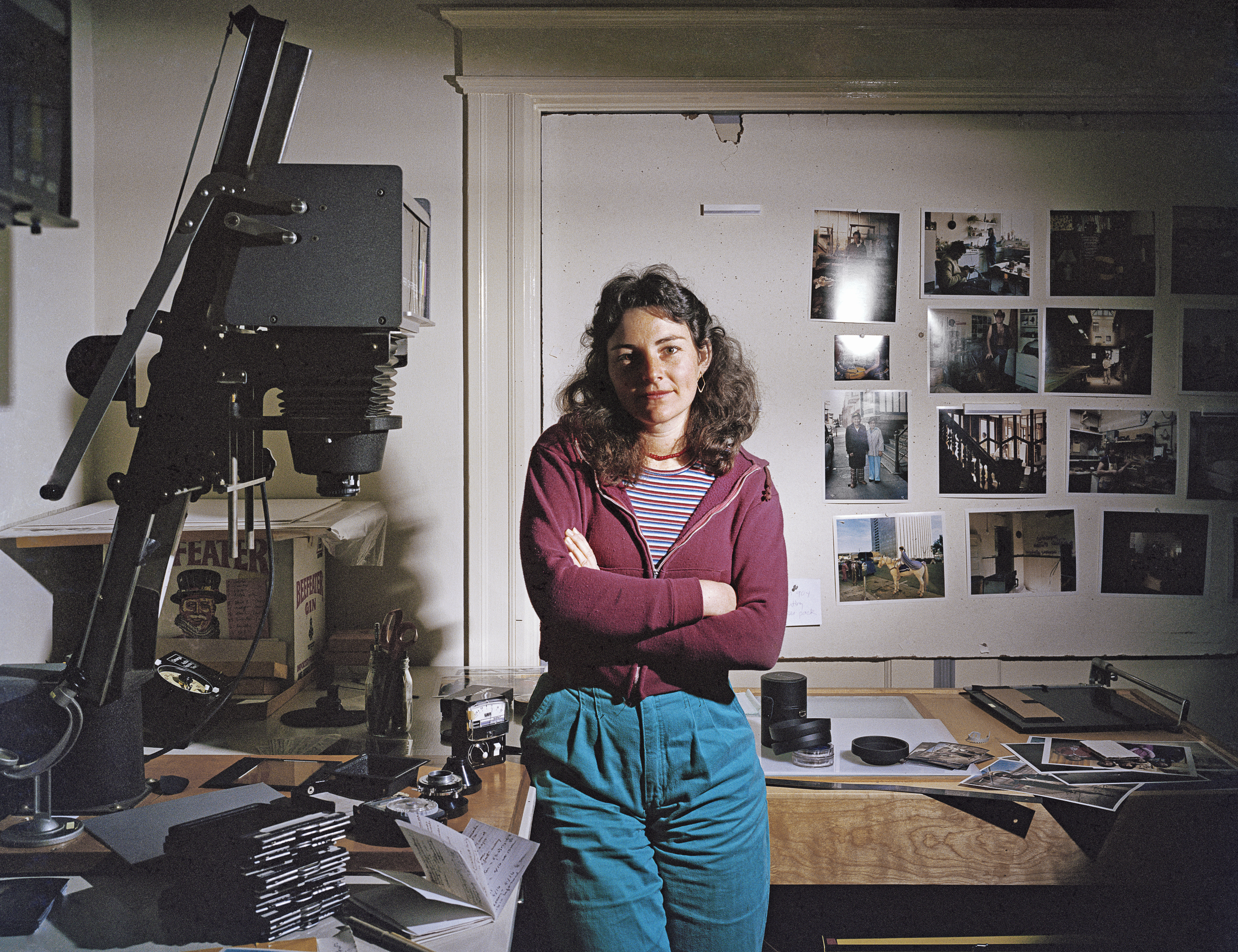 Janet Delaney in her darkroom at 62 Langton Street, 1981 Archival Pigment Print, 2016 16 x 20 inches, edition of 5 20 x 24 inches, edition of 2 30 x 40 inches, edition of 2