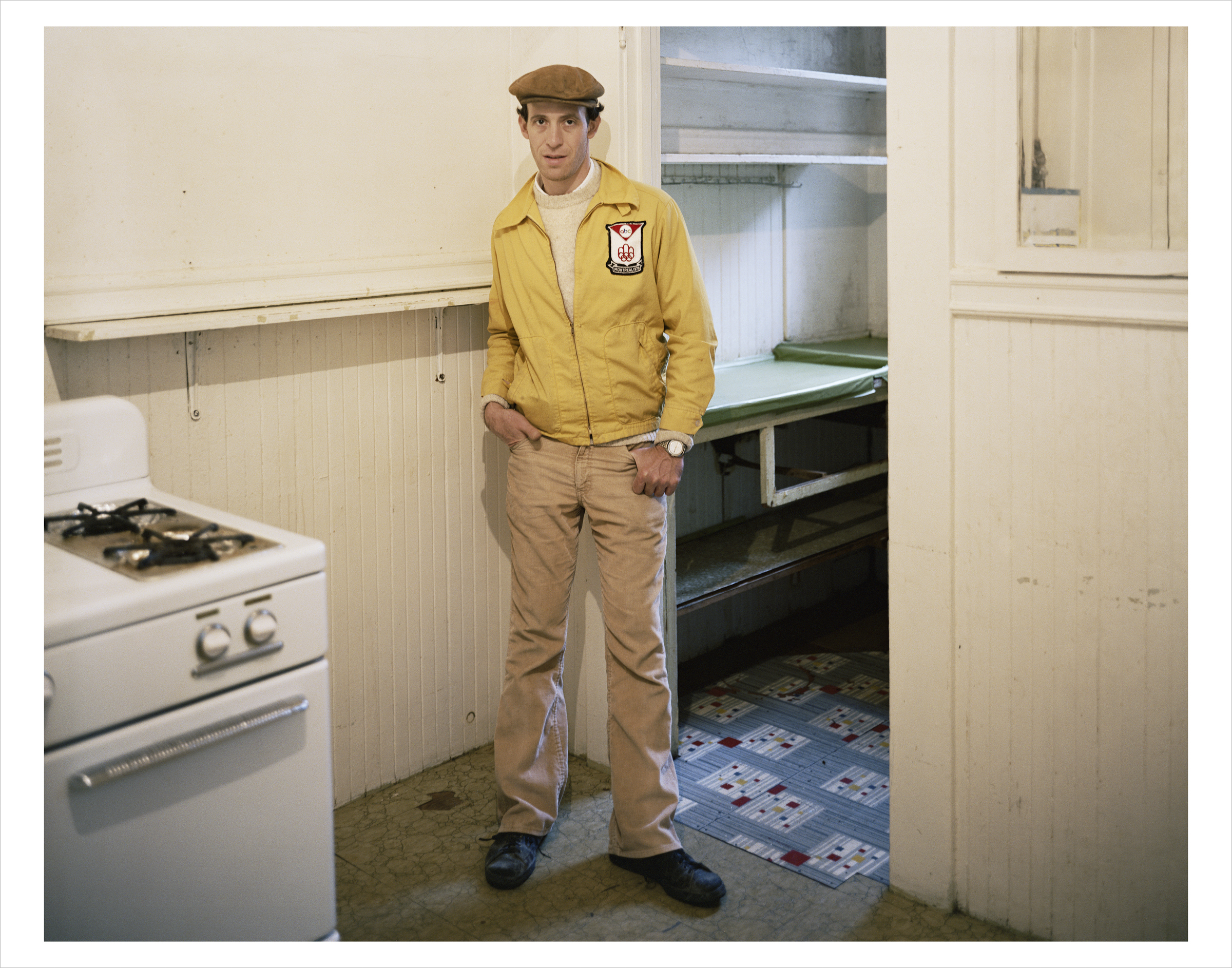 Jeffery Kreiger, new landlord, 152 Russ Street, 1980 Archival Pigment Print, 2016 16 x 20 inches, edition of 5 20 x 24 inches, edition of 2 30 x 40 inches, edition of 2