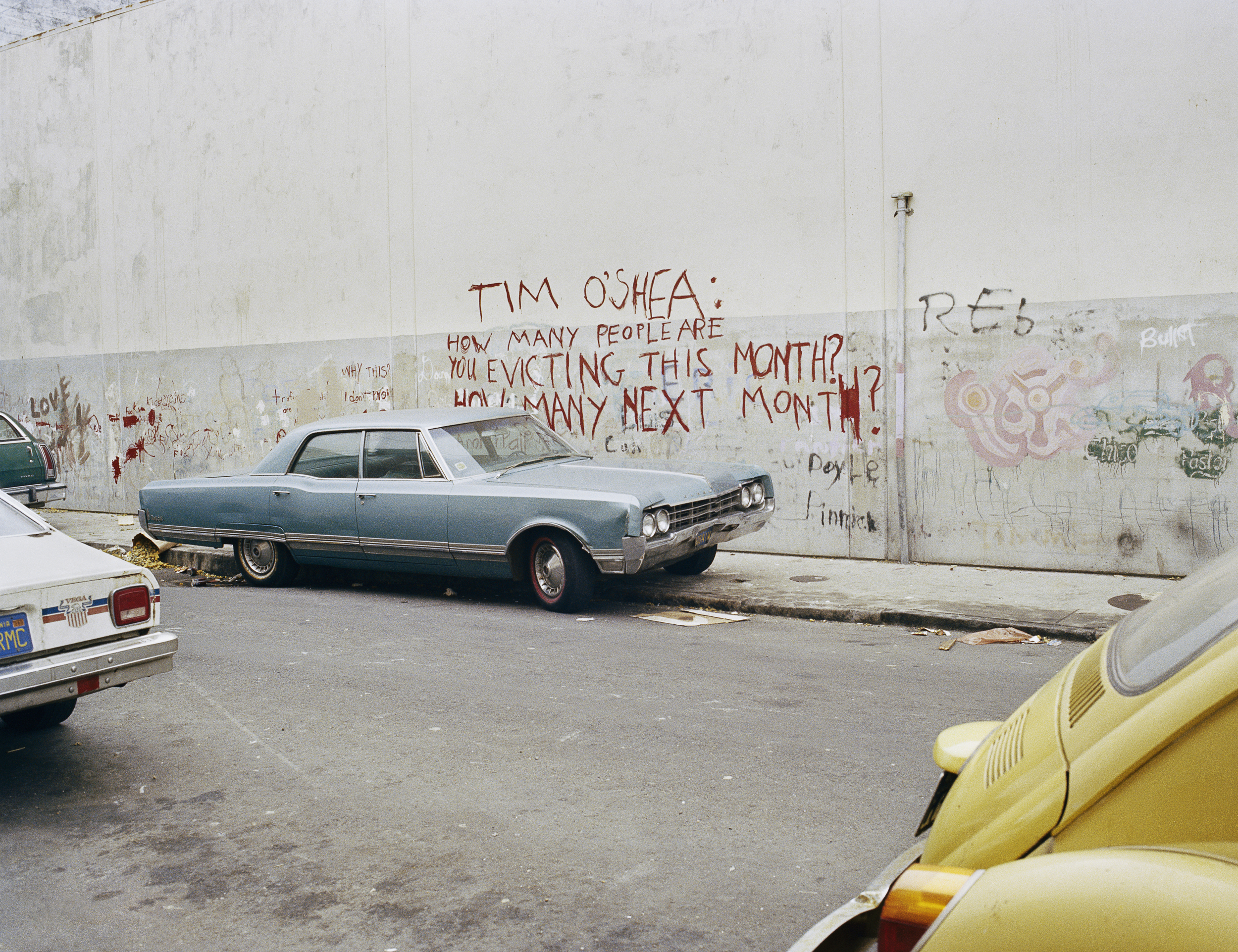 Langton between Folsom and Harrison Streets, 1979 Archival Pigment Print, 2016 16 x 20 inches, edition of 5 20 x 24 inches, edition of 2 30 x 40 inches, edition of 2