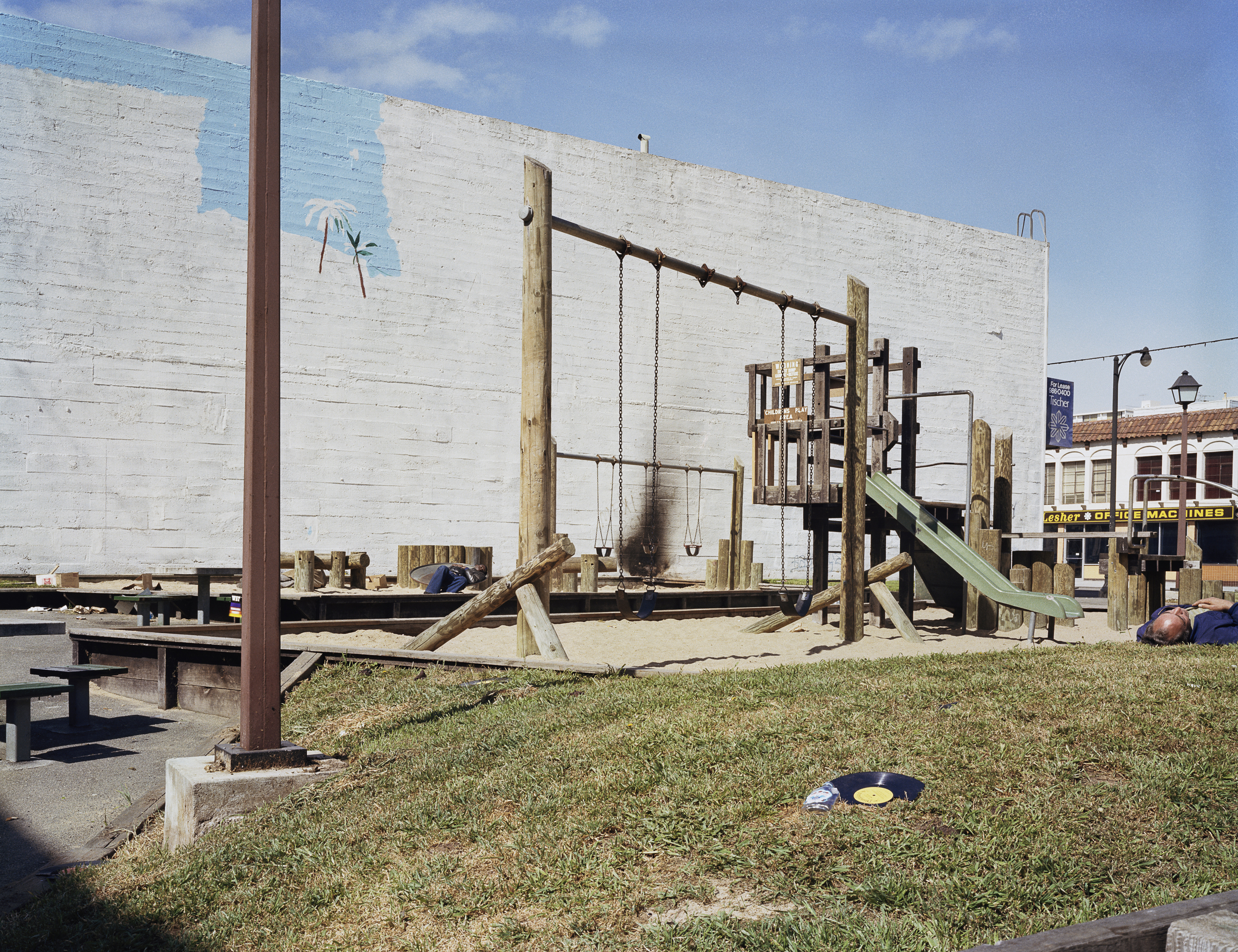 Langton Park, Langton and Howard Streets, 1981 Archival Pigment Print, 2016 16 x 20 inches, edition of 5 20 x 24 inches, edition of 2 30 x 40 inches, edition of 2