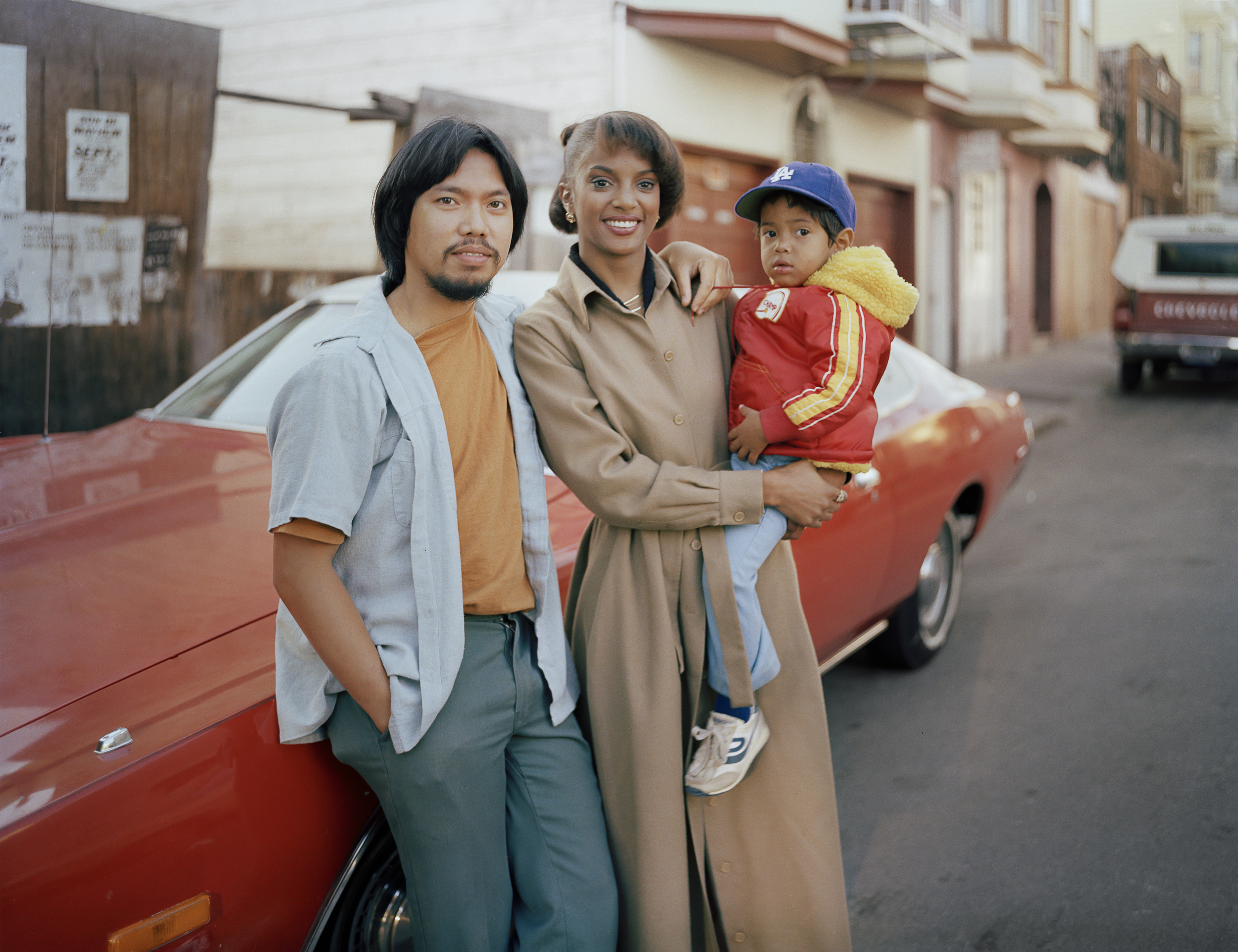Langton Street residents Lalett and Vanessa Fernandez with their son, 1980 Archival Pigment Print, 2016 16 x 20 inches, edition of 5 20 x 24 inches, edition of 2 30 x 40 inches, edition of 2