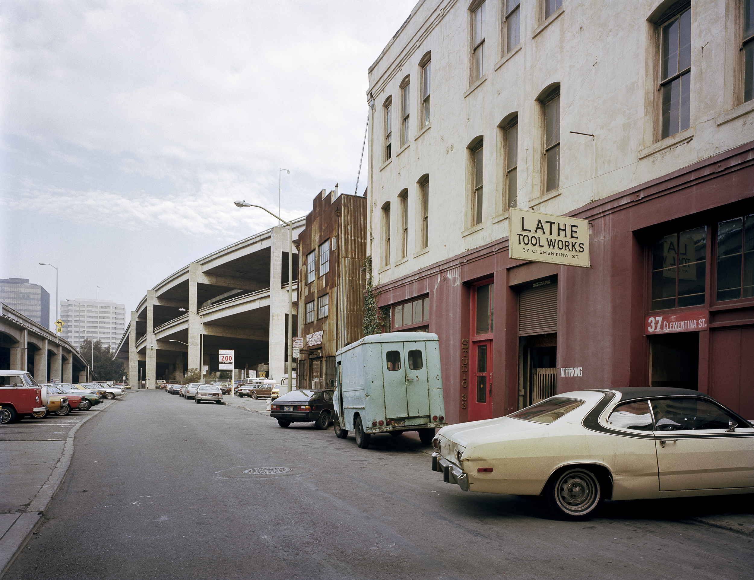 Lathe and Tool Works, 37 Clementina Street, 1981 Archival Pigment Print, 2016 16 x 20 inches, edition of 5 20 x 24 inches, edition of 2 30 x 40 inches, edition of 2