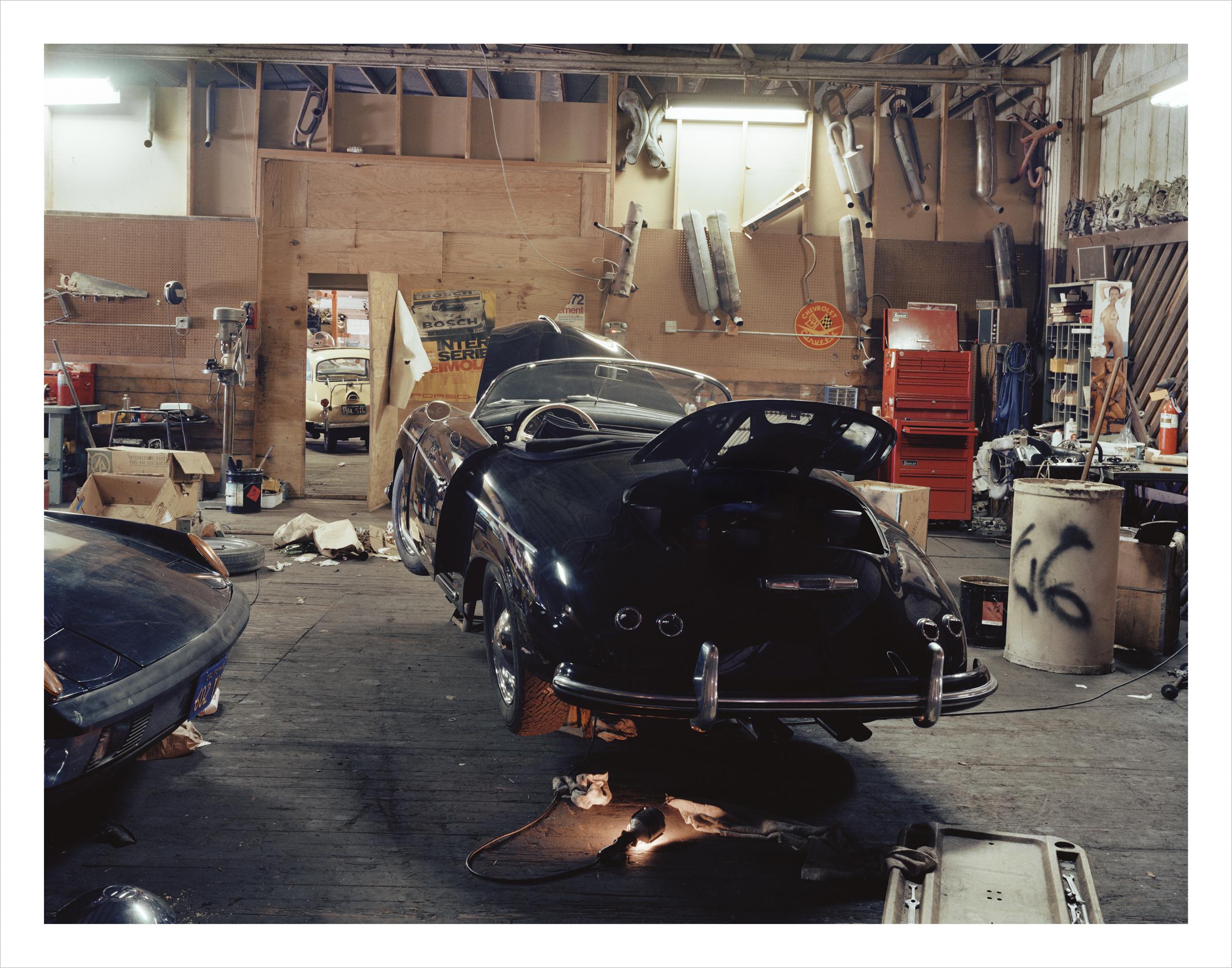 Mr. Porche Auto Restoration, 270 Berry Street, 1980 Archival Pigment Print, 2016 16 x 20 inches, edition of 5; 20 x 24 inches, edition of 2; 30 x 40 inches, edition of 2