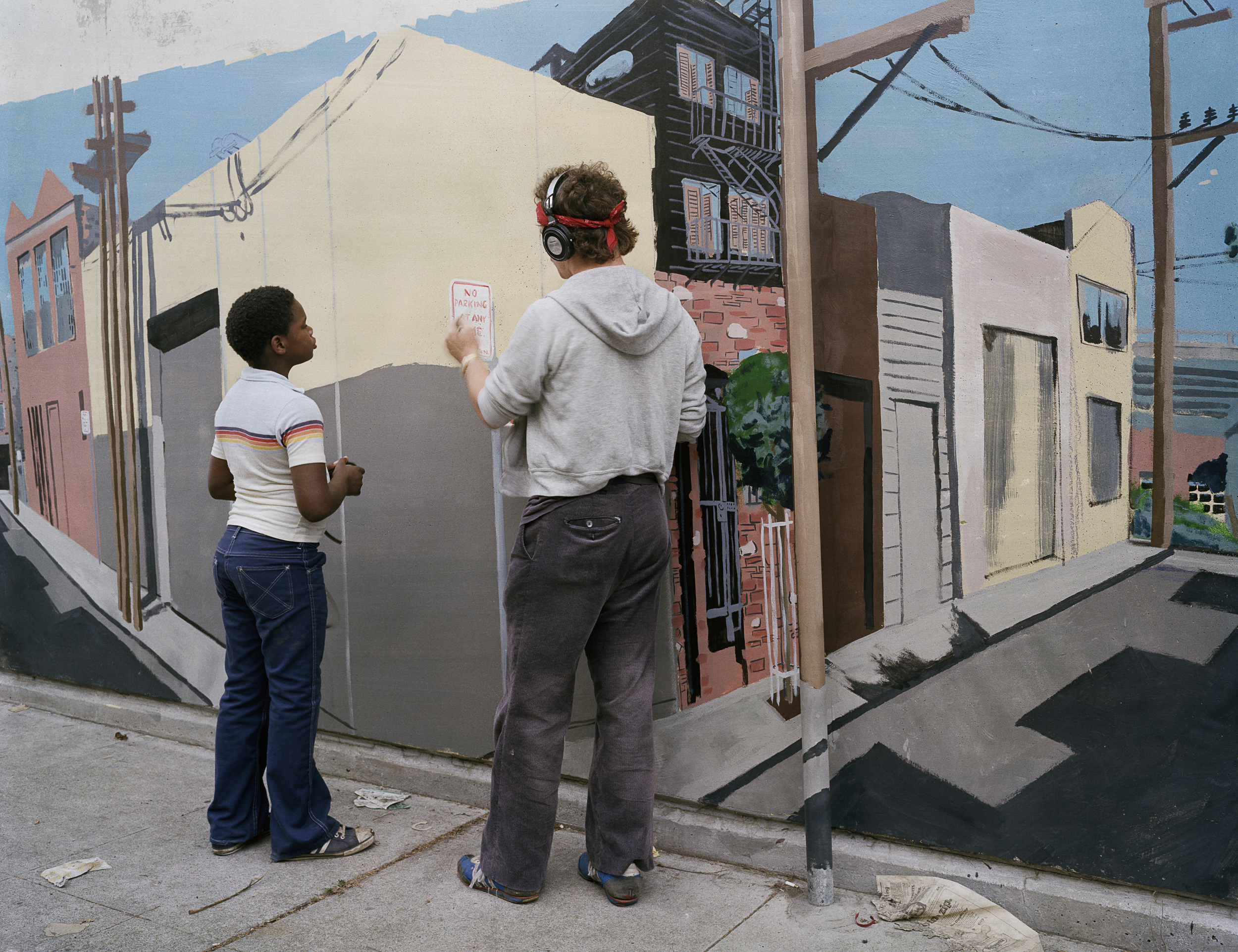 Painting Mural, Langton Street, 1980 Archival Pigment Print, 2016 16 x 20 inches, edition of 5 20 x 24 inches, edition of 2 30 x 40 inches, edition of 2