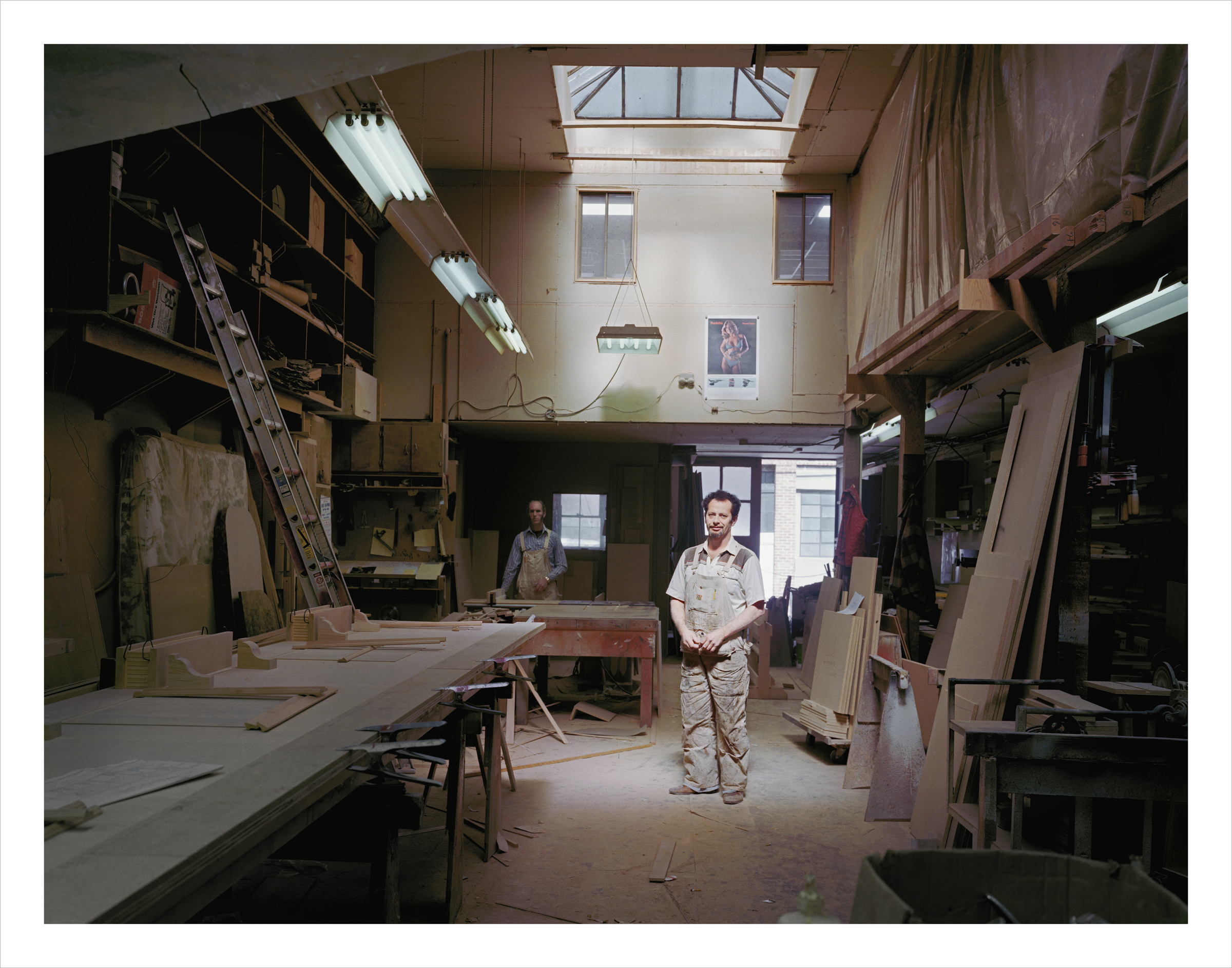 People's Construction, 30 Langton Street, 1980 Archival Pigment Print, 2016 16 x 20 inches, edition of 5 20 x 24 inches, edition of 2 30 x 40 inches, edition of 2