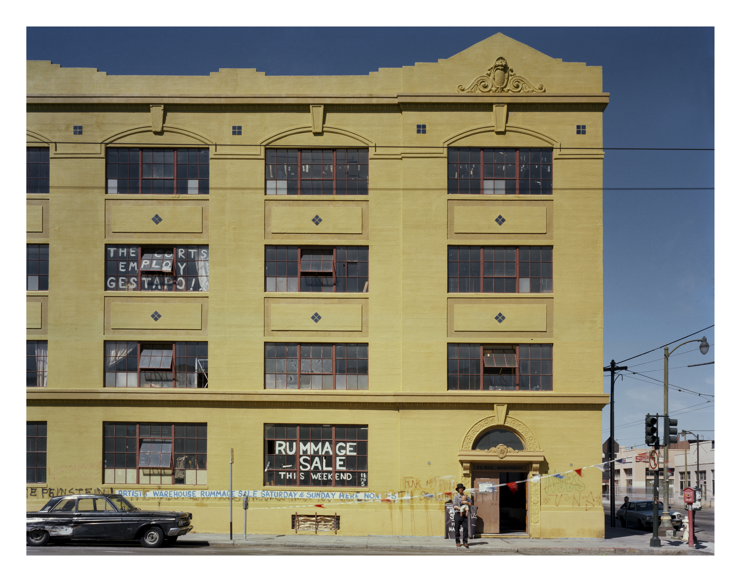 Project One Artist Studios, 10th St at Howard Street, 1980 Archival Pigment Print, 2016 16 x 20 inches, edition of 5 20 x 24 inches, edition of 2 30 x 40 inches, edition of 2