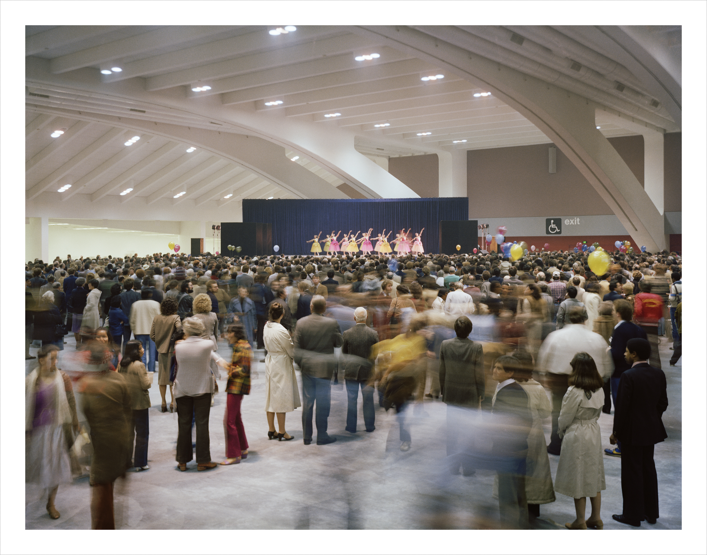 San Francisco Ballet performing on opening days for the Moscone Center, 1981 Archival Pigment Print, 2016 16 x 20 inches, edition of 5 20 x 24 inches, edition of 2 30 x 40 inches, edition of 2